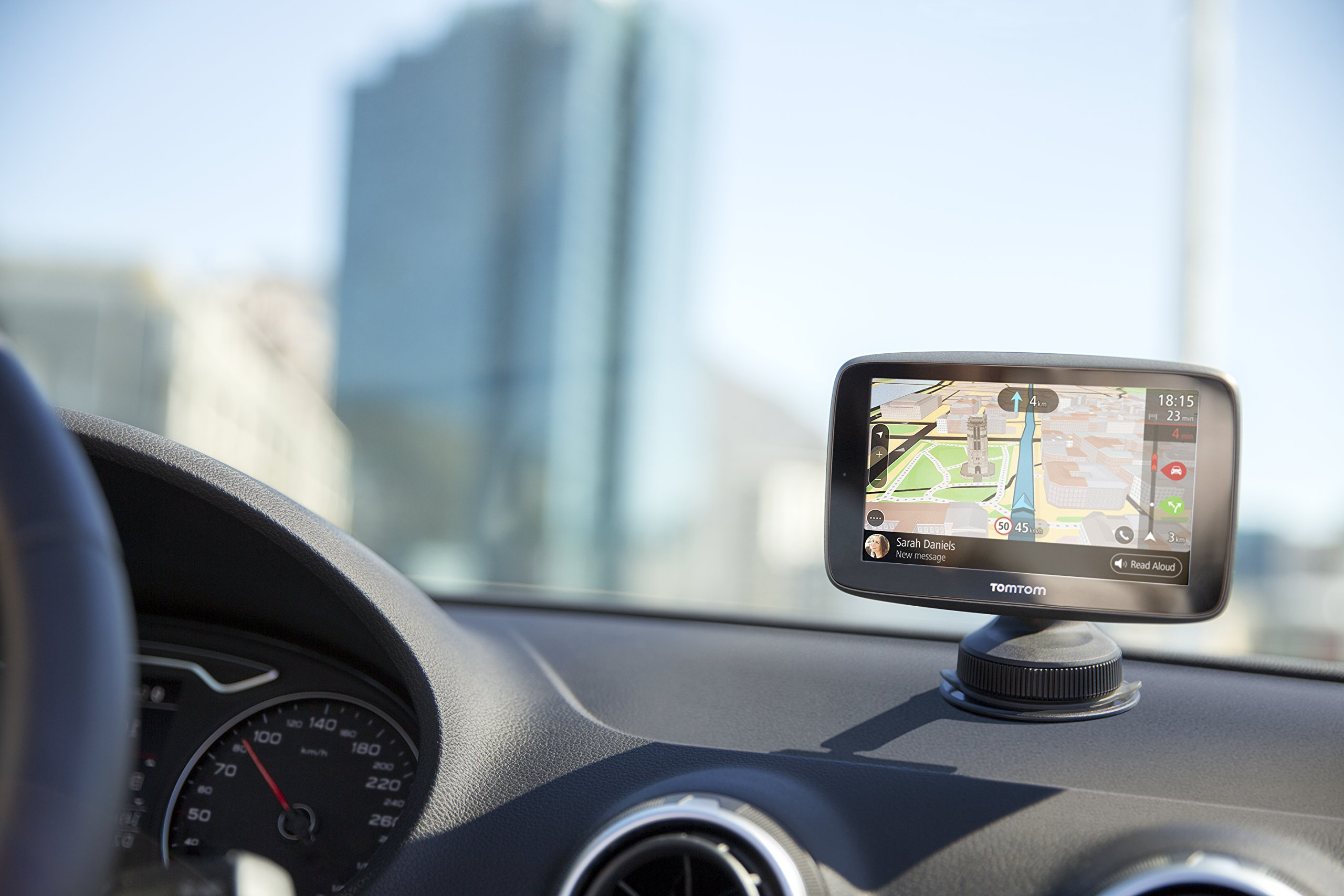 TomTom-GO-6200-World-Navigationsgert-6-Touchscreen-Flash-BatterieAkku-Zigarettenanznder-USB-interne