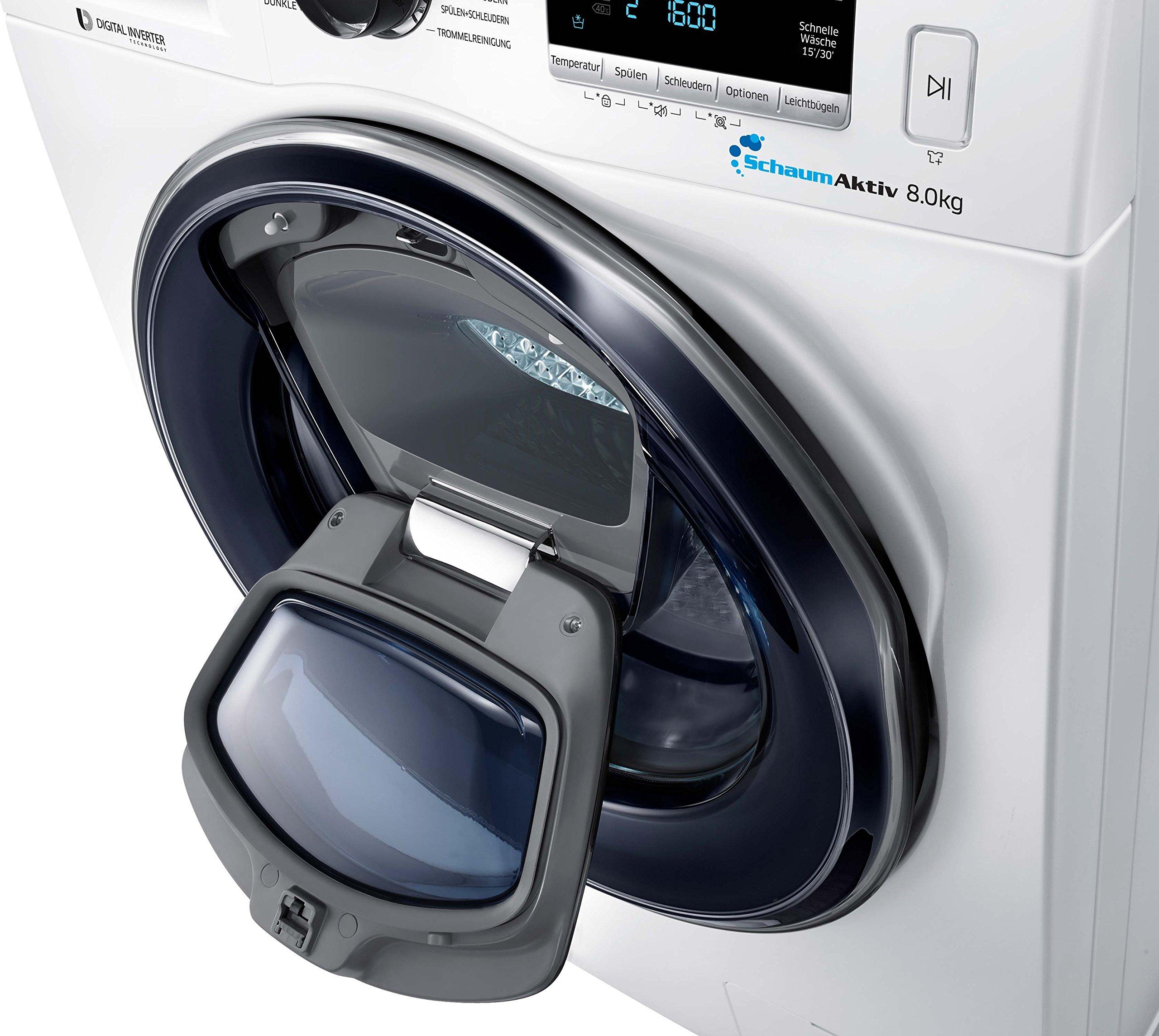 Samsung-WW8GK6400QWEG-Waschmaschine-A-8-kg-1400-UpM-SchaumAktiv-Trommelreinigung-Kindersicherung