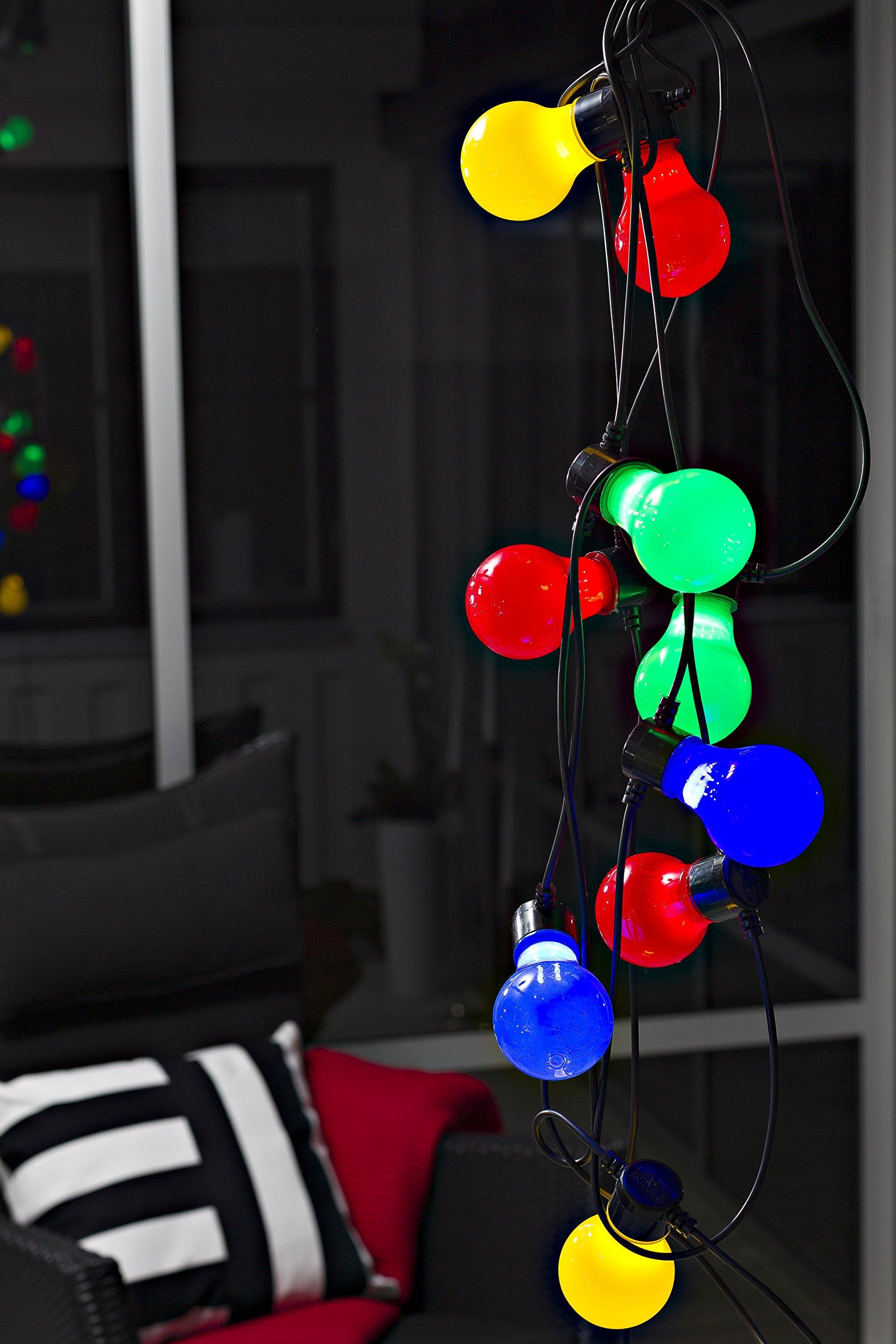 LED-Biergartenketten-opale-Birnen