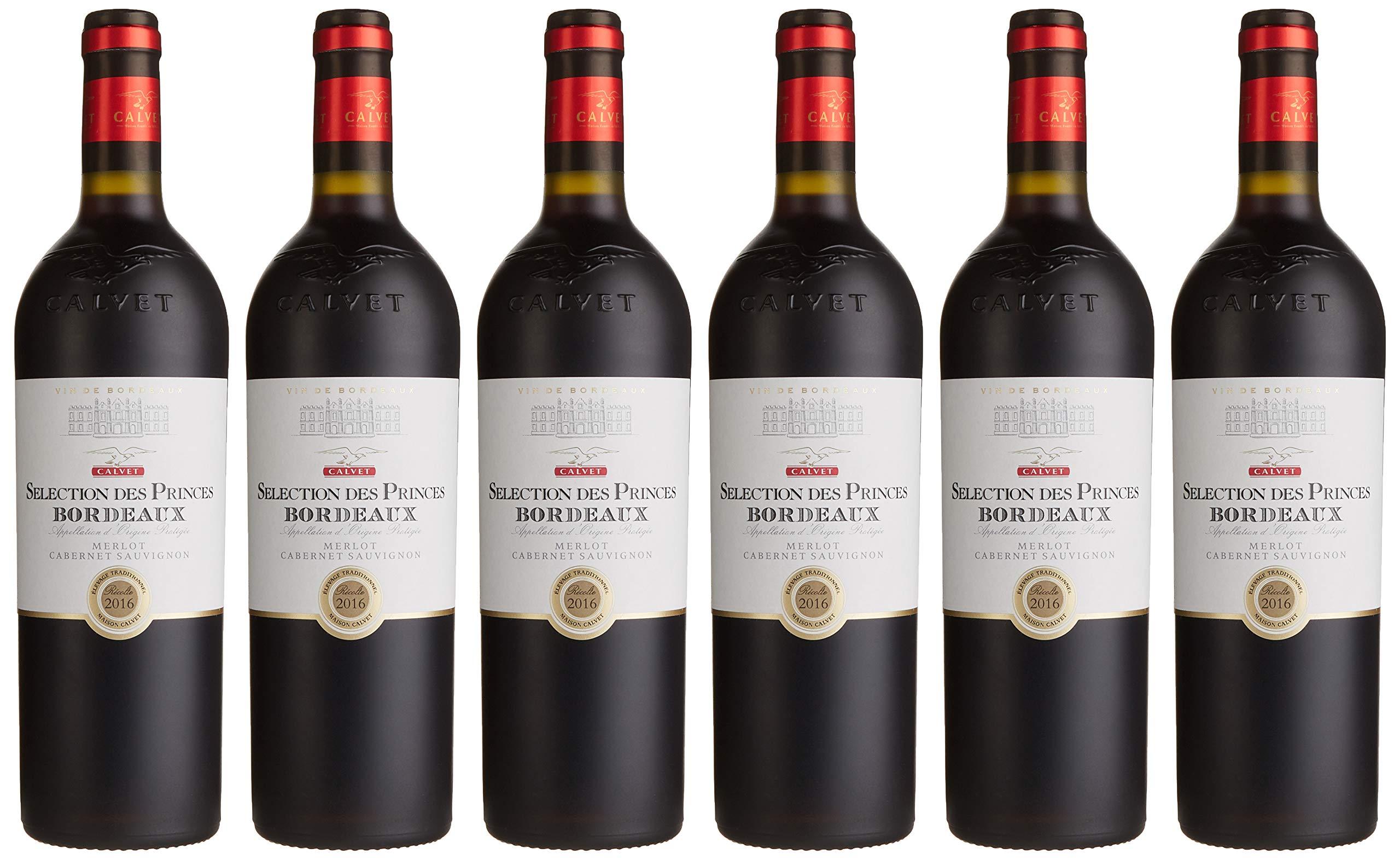Calvet-Selection-Princes-Medaille-AOP-Bordeaux-Merlot-Halbtrocken-6-x-075-l