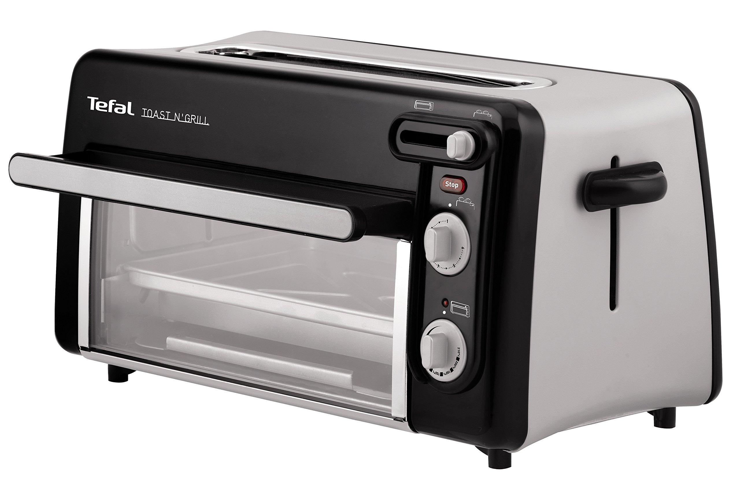Tefal-Toast-n-Grill-TL6008-2in1-Toaster-und-Mini-Ofen-1300-Watt