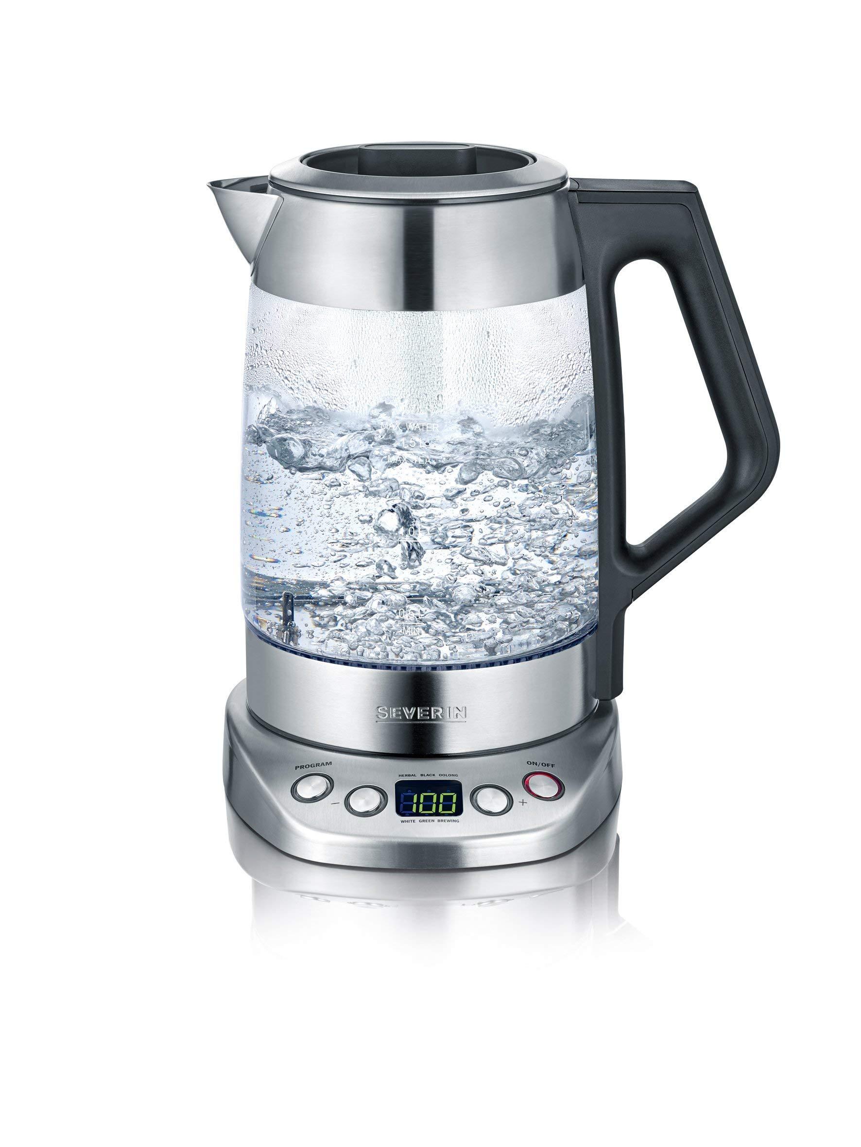 Glas-Tee-Wasserkocher