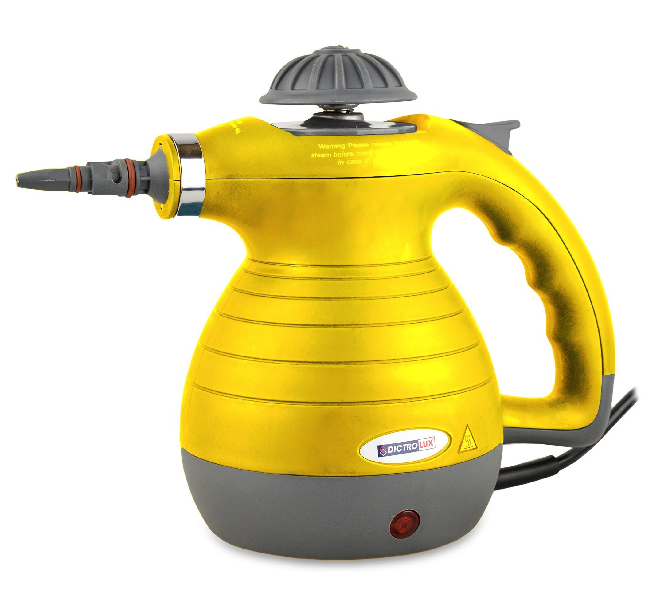 891900-dictrolux-Dampf-900-W-Elektro-Dampfreiniger-mit-8-Zubehr–Gelb