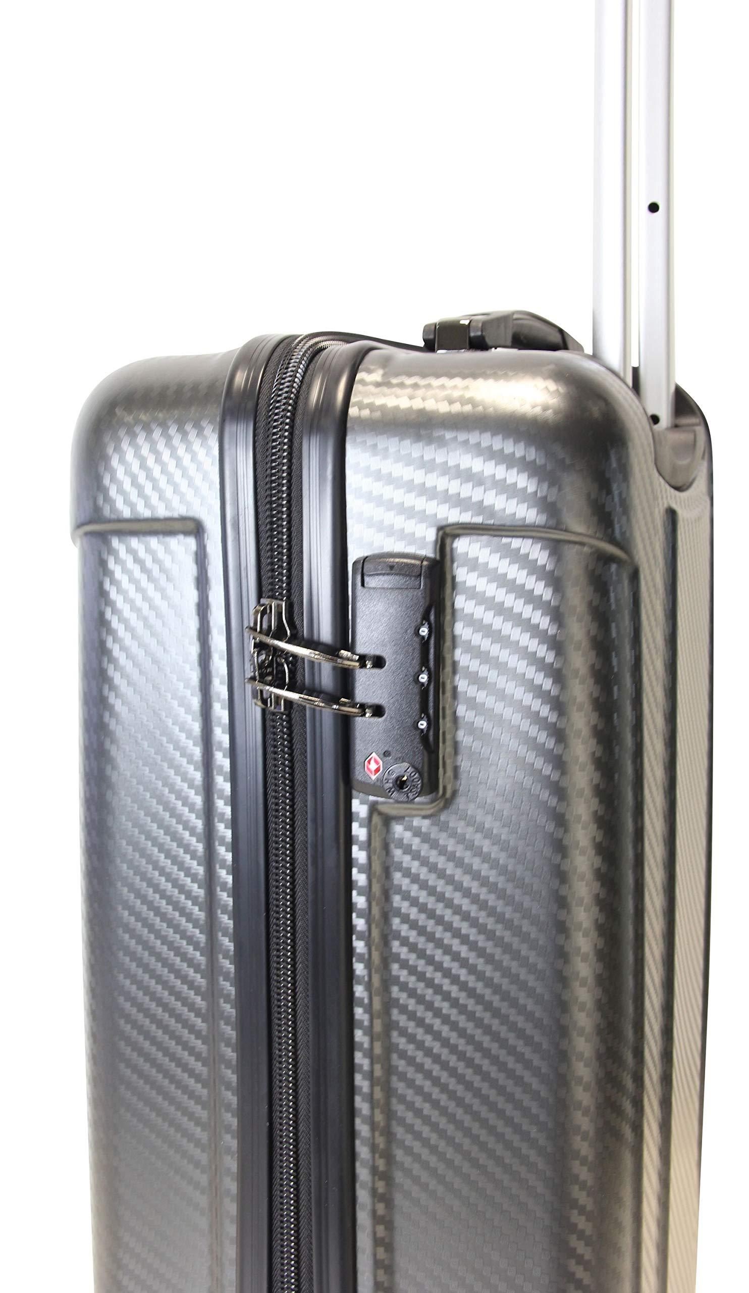 Frentree-Handgepck-Hartschalen-Koffer-Trolley-Koffer-aus-hochwertiger-Polykarbonat-Reisekoffer-mit-TSA-in-M-L-XL-Set