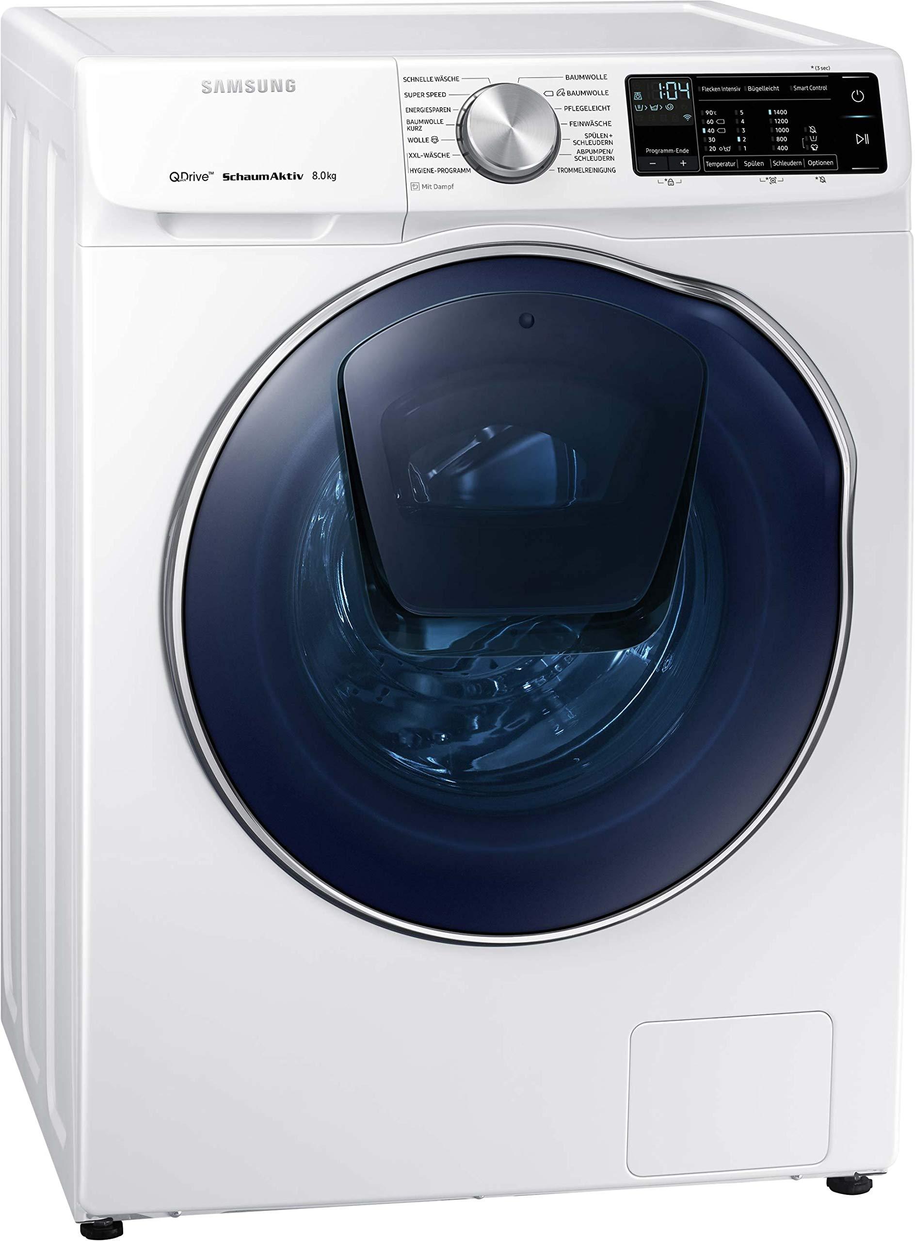 Samsung-WW6900-WW8GM642O2WEG-Waschmaschine-8-kg-1400-Umin-A-QuickDrive-Technologie-AddWash-SchaumAktiv-Technologie-WiFi-Steuerung