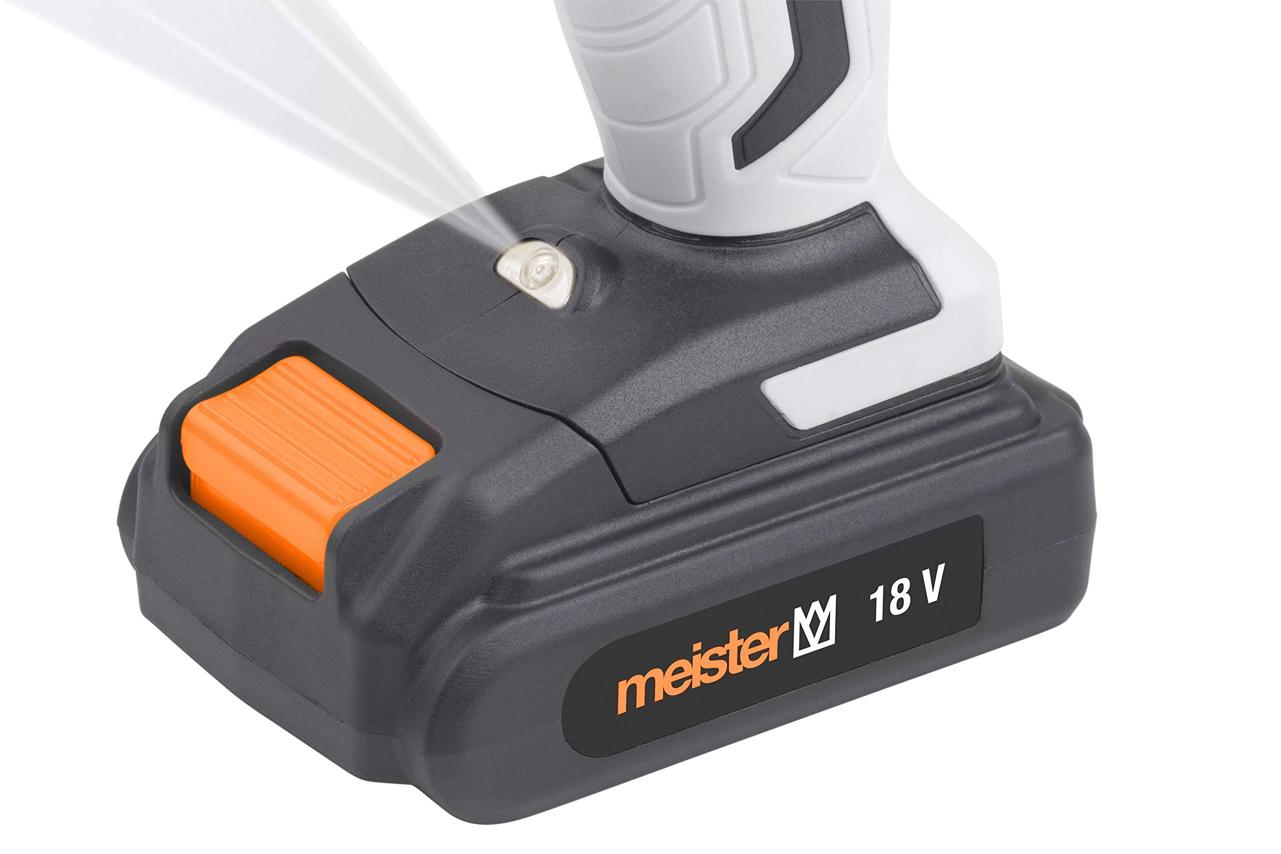 Meister-Akkubohrschrauber-18-V-MAS180xMZ2-2-x-20-Ah-Akku-2-Gang-Getriebe-Schnellspannbohrfutter-38-Nm-Drehmoment-Akkuschrauber-mit-LED-Arbeitsleuchte-Bohrschrauber-mit-Zubehr-5451410