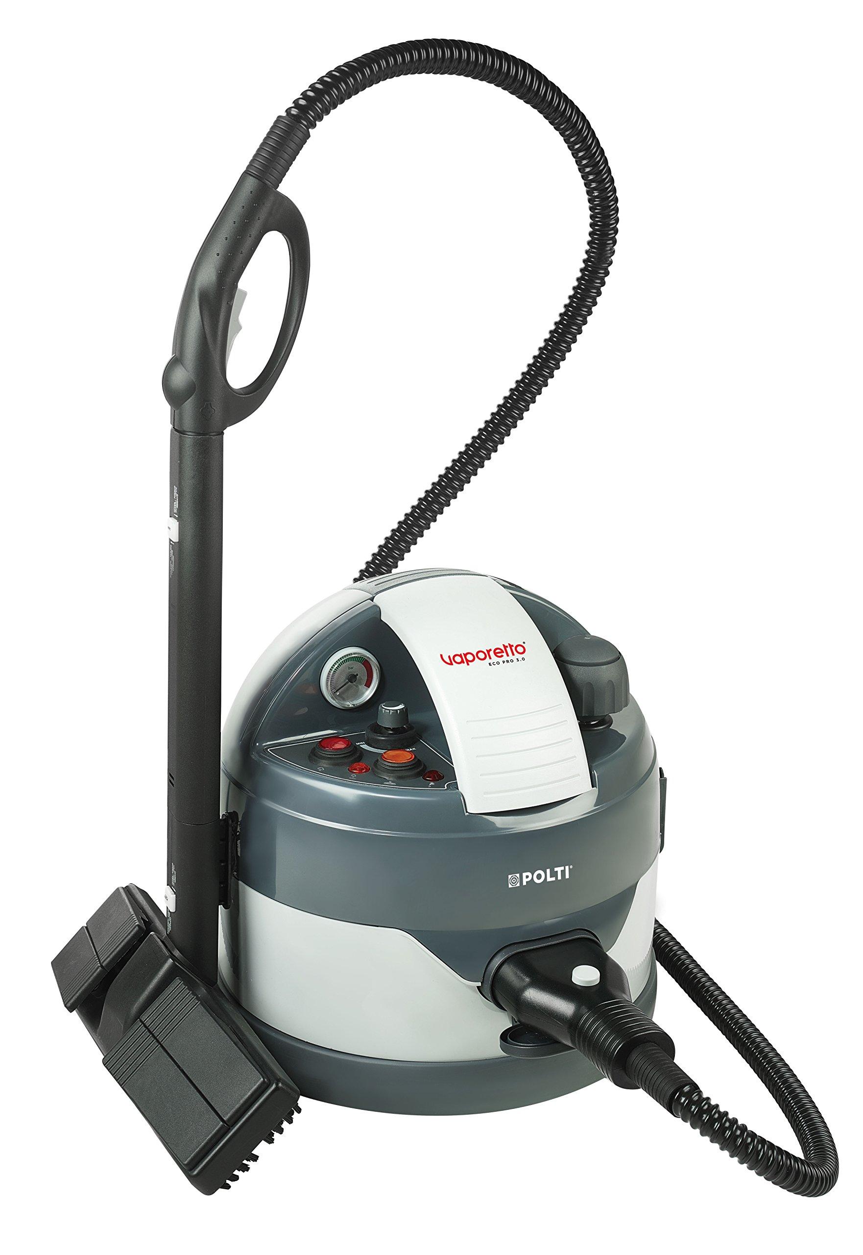 POLTI-PTEU0260-Dampfreiniger-Eco-Pro-30-mit-Sicherheitsverschluss-maximal-Dampfdruck-45-bar-Dampfausstoss-bis-zu-110-grmin-Aufheizzeit-11-Minuten-Dampfdruckanzeige-Edelstahlboiler-Gesamtleistung-2000-