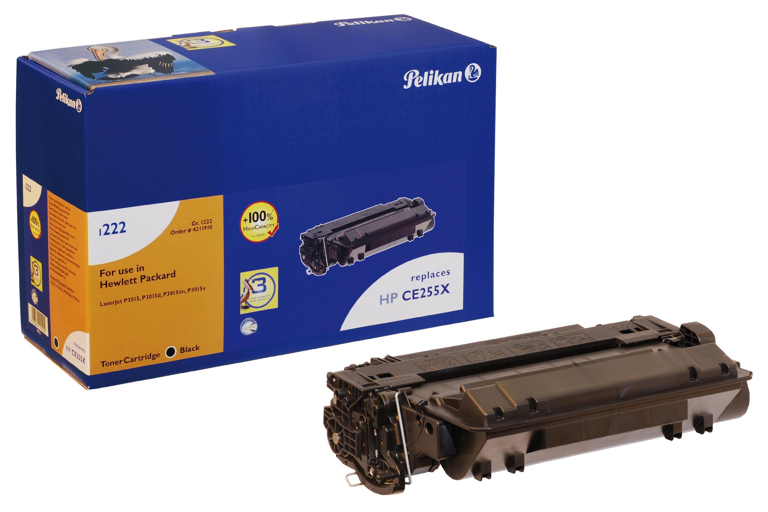 Pelikan-Toner-Modul-1222-ersetzt-HP-CE255A-Schwarz-7300-Seiten