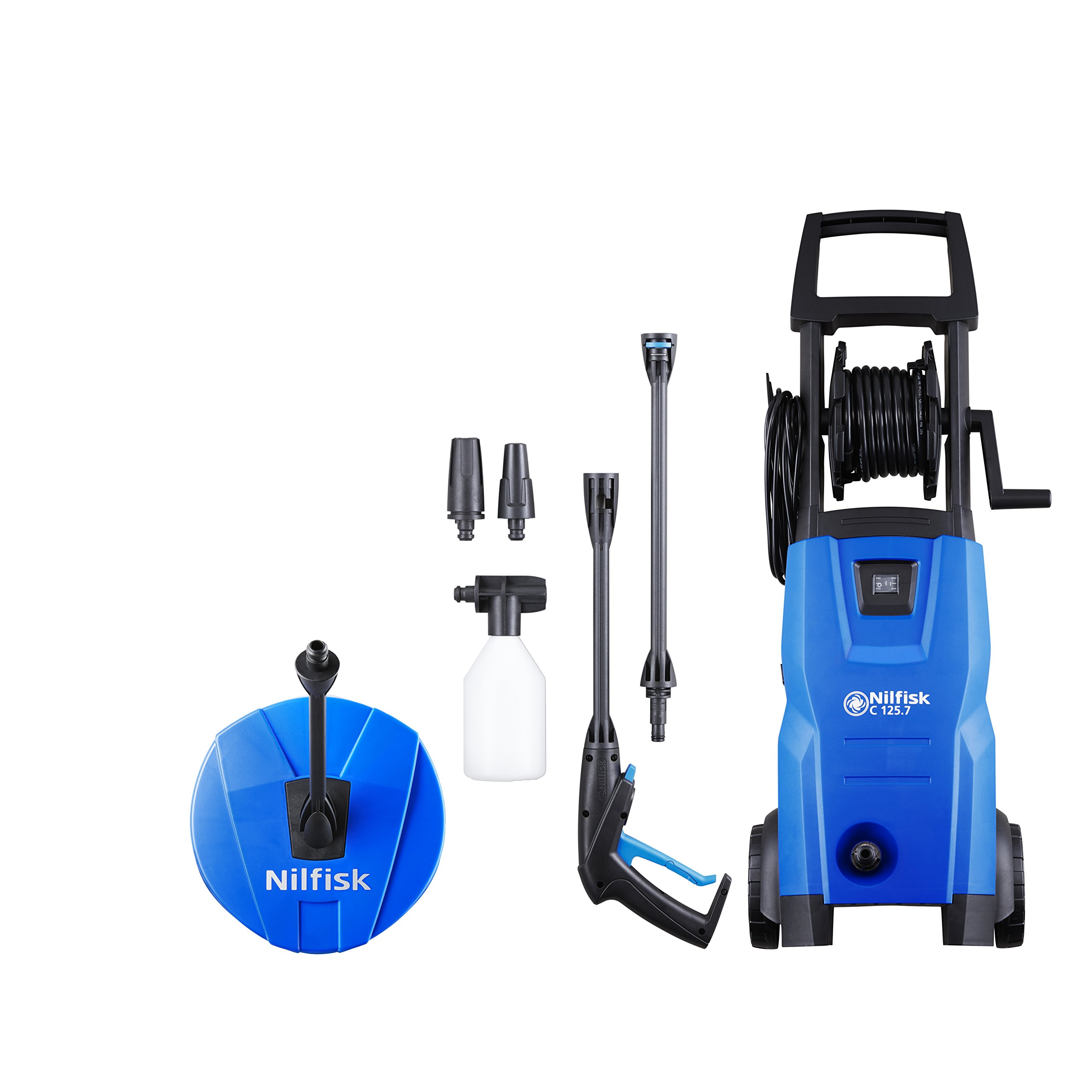Nilfisk-128470805-C-1257-6-PC-X-tra-Hochdruckreiniger-1500-W-230-V-Blau