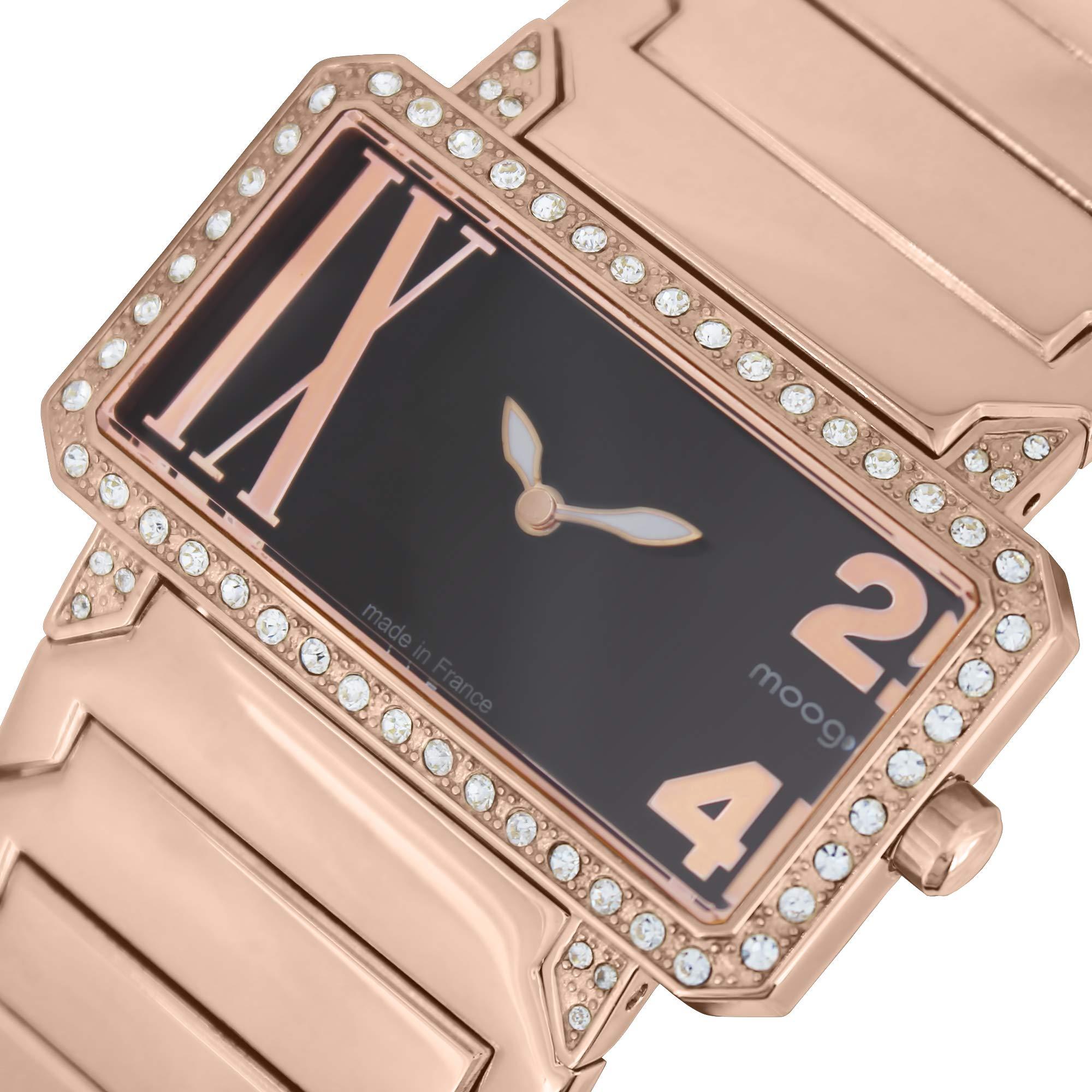 Moog-Paris-Damen-Uhr-Analog-mit-Edelstahl-Armband-M44874-005