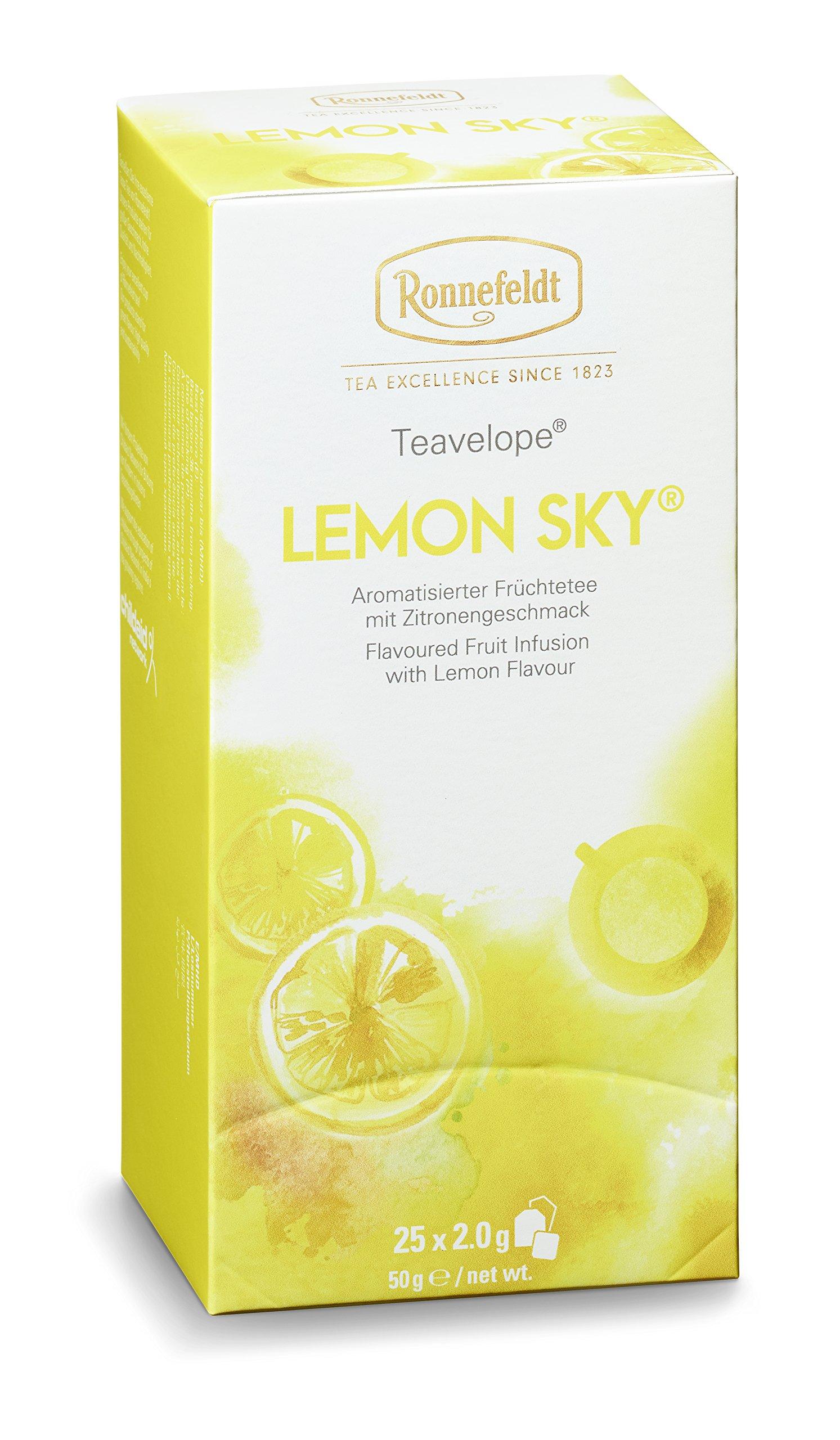 Ronnefeldt-Promopack–Teavelope-Lemon-Sky-Frchtetee-50-g-inkl-Coffee-To-Go-Becher
