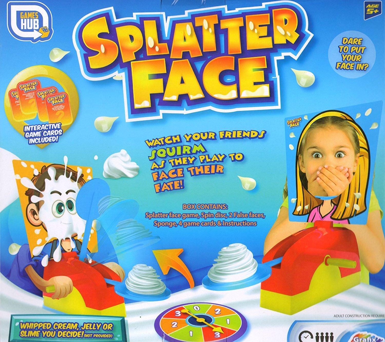 Hilarious-Splatter-Face-Party-Spiel-Fun-Filled-Familienspiel-Halten-Sie-Ihre-Nerven-und-halten-Sie-die-Daumen-gedrckt-denn-dies-ist-ein-Spiel-wo-Sie-nicht-mit-Pie-auf-Ihrem-Gesicht-enden-wollen