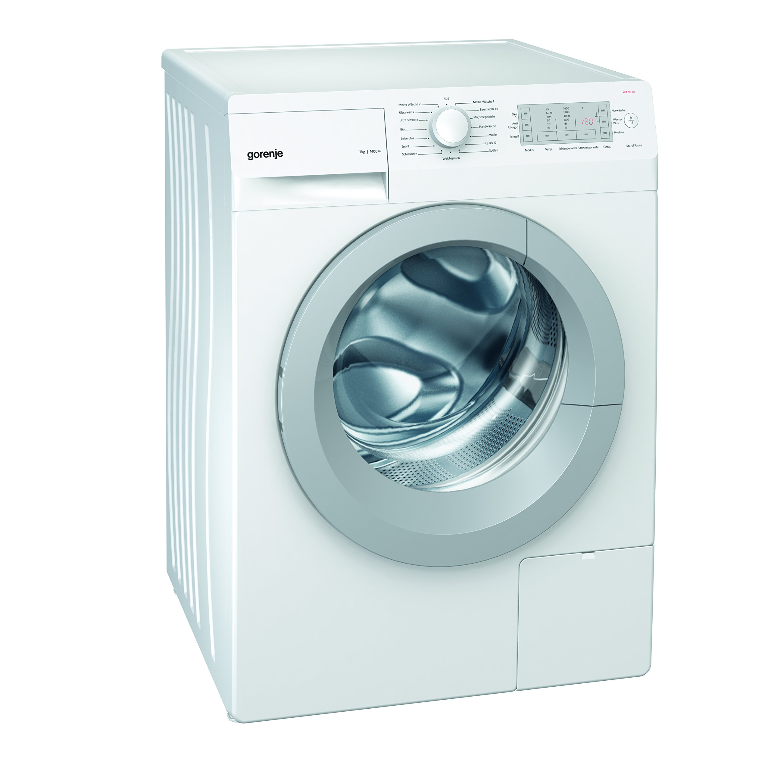 Gorenje-WA-50-EX-Waschmaschine-FL-A-7-kg-1400-UpM-wei-Totaler-AquaStop-SensoCare-Waschsystem-Quick17