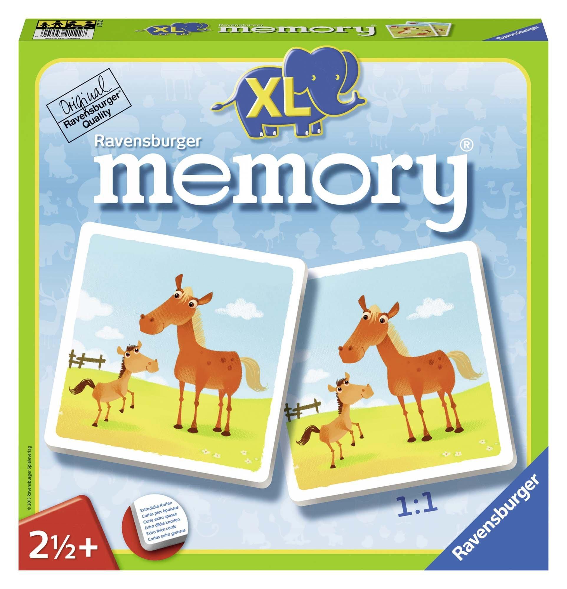 Ravensburger-21122-Mein-erstes-XL-memory-Tiere