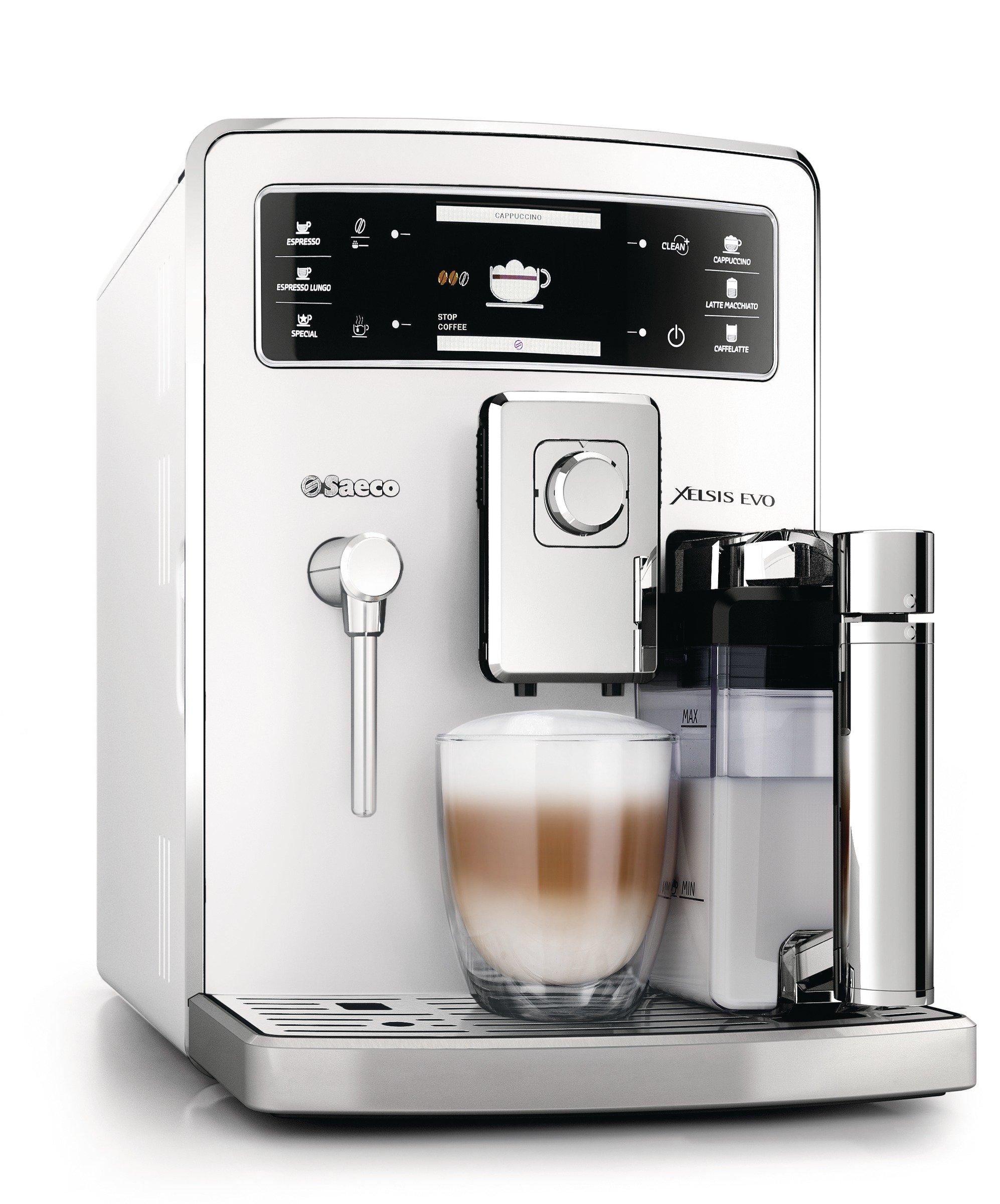 Saeco-HD895321-Xelsis-Evo-Kaffeevollautomat-15-bar-integrierte-Milchkaraffe-wei