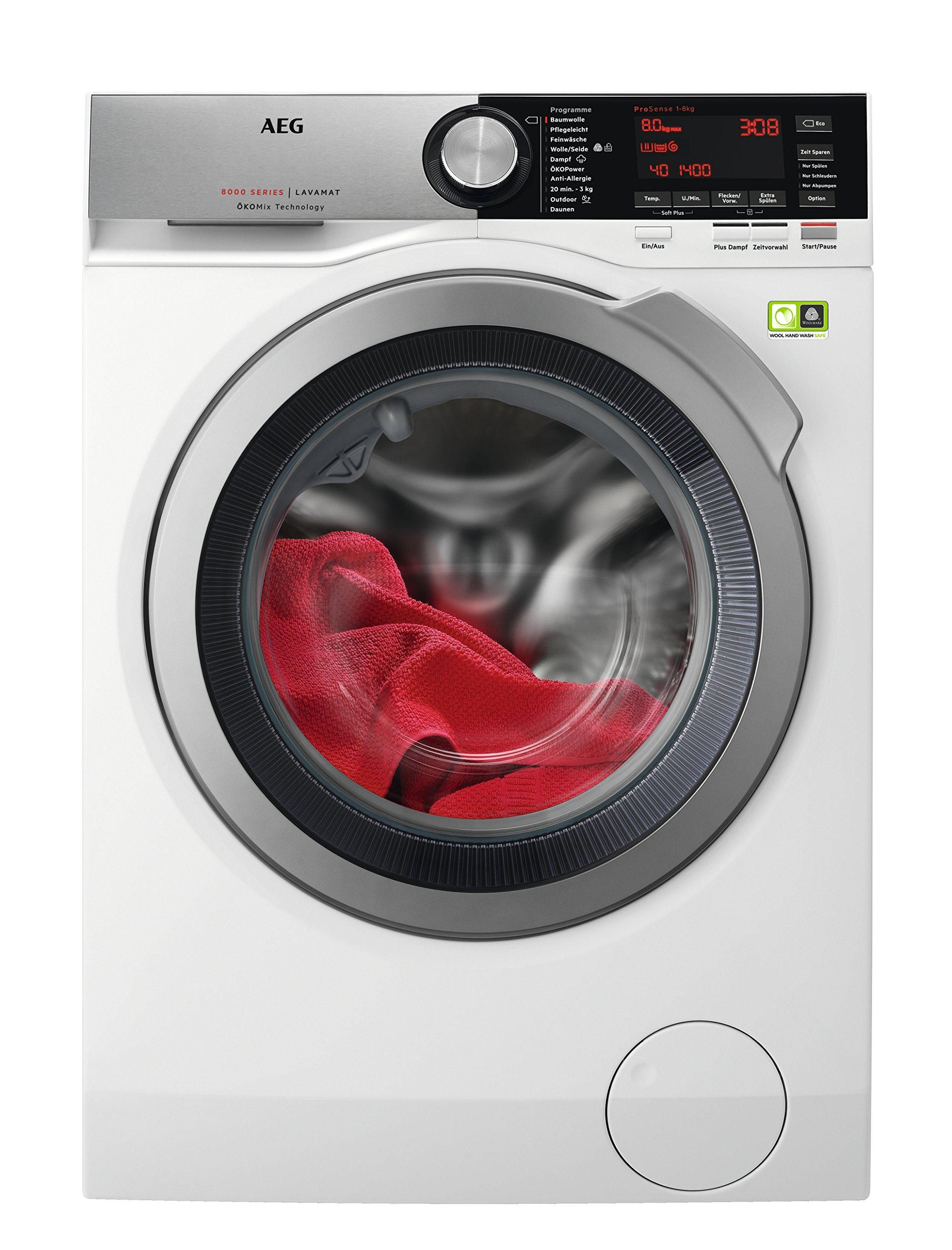 AEG-LJUBILINE6-Waschmaschine-Frontlader-8-kg-XXL-ProTex-Schontrommel-Energieklasse-A-97-kWhJahr-Mengenautomatik-Waschautomat-mit-Dampfprogramm-fr-Hemden-und-Blusen-wei