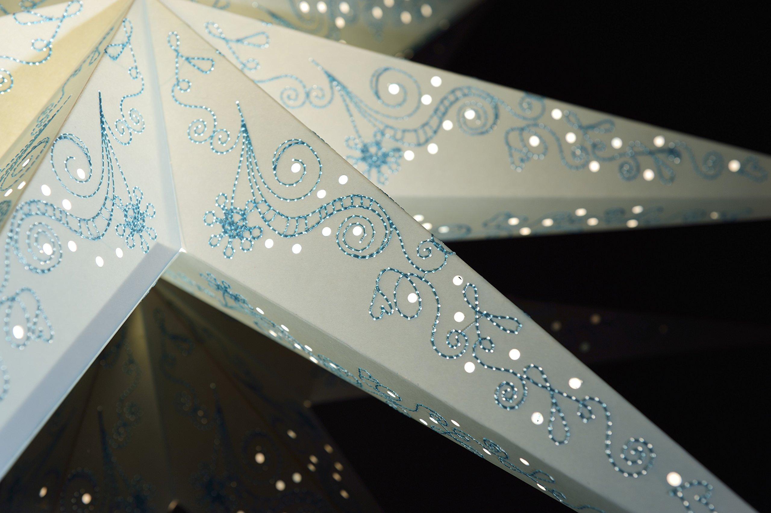 Papiersterne-mit-Muster