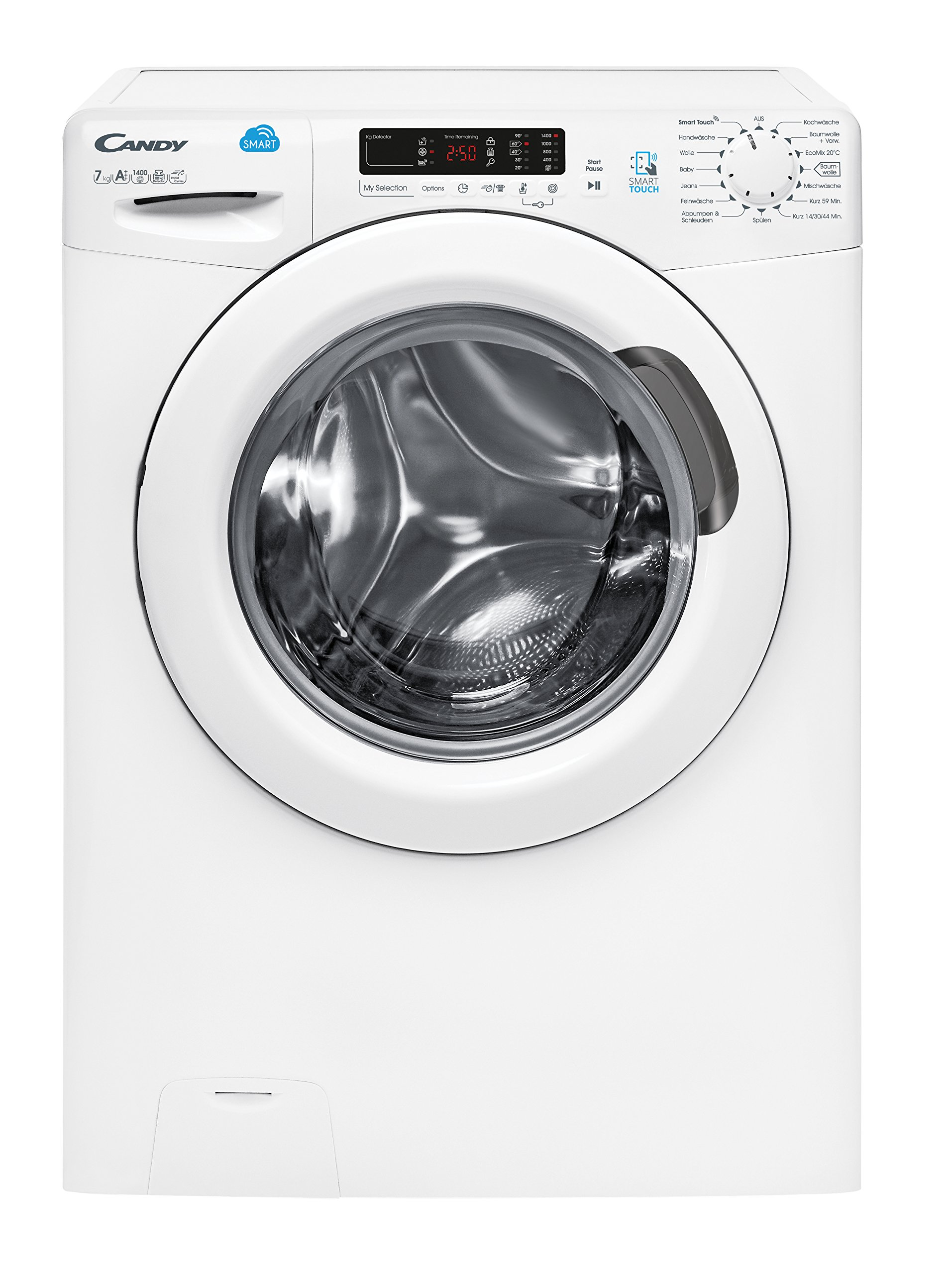 Candy-CS-G472-D3-Waschmaschine-FrontladerA1400-UpMkgApp-steuerbar-dank-NFC-Technologiewei