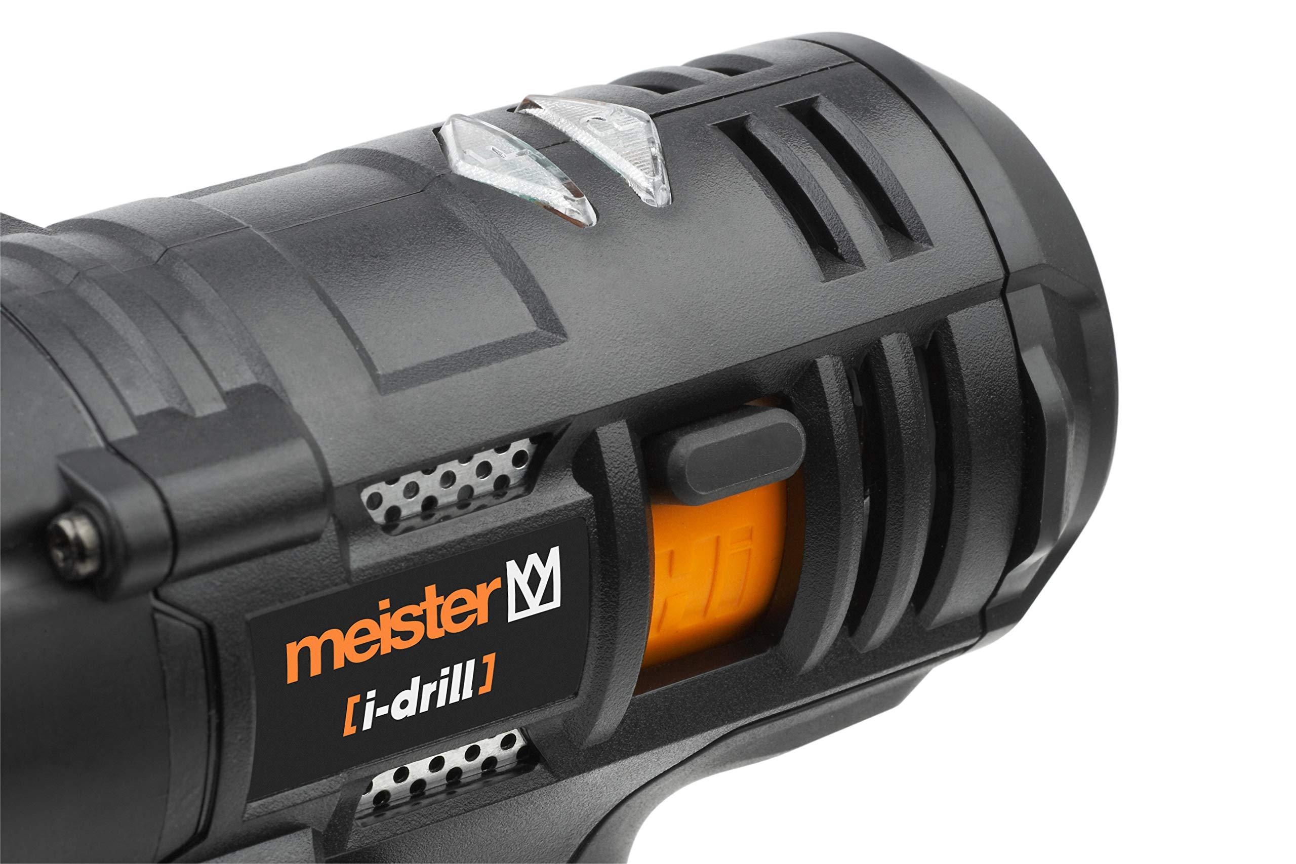 Meister-Akkubohrschrauber-i-drill-Maxx-16-V-20-Ah-Akku-2-Gang-Getriebe-Schnellspannbohrfutter-40-Nm-Drehmoment-Akkuschrauber-mit-Arbeitsleuchte-Bohrschrauber-in-Textiltasche-5450750
