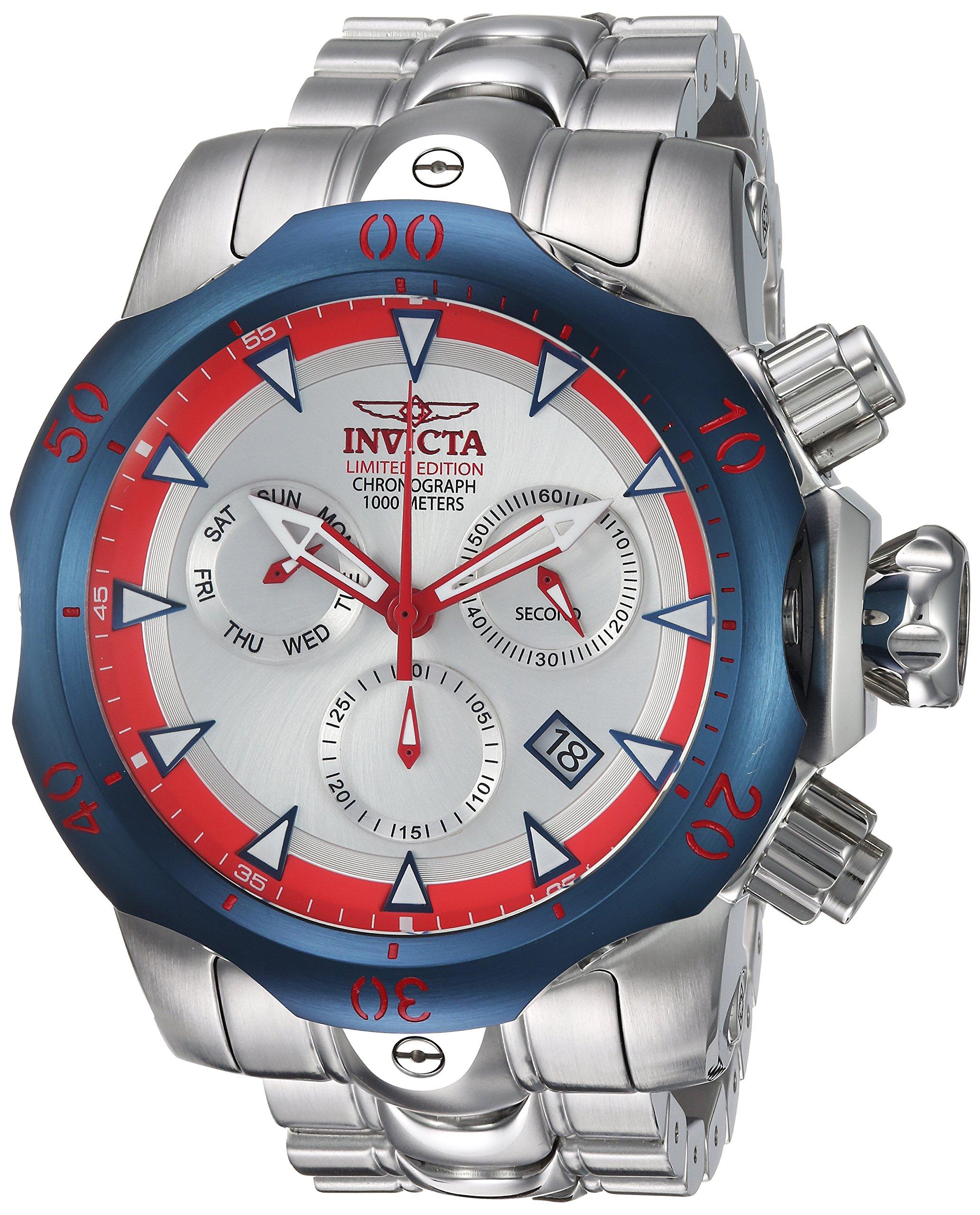 Invicta-Herren-analog-Quarz-Uhr-mit-Edelstahl-Armband-24246