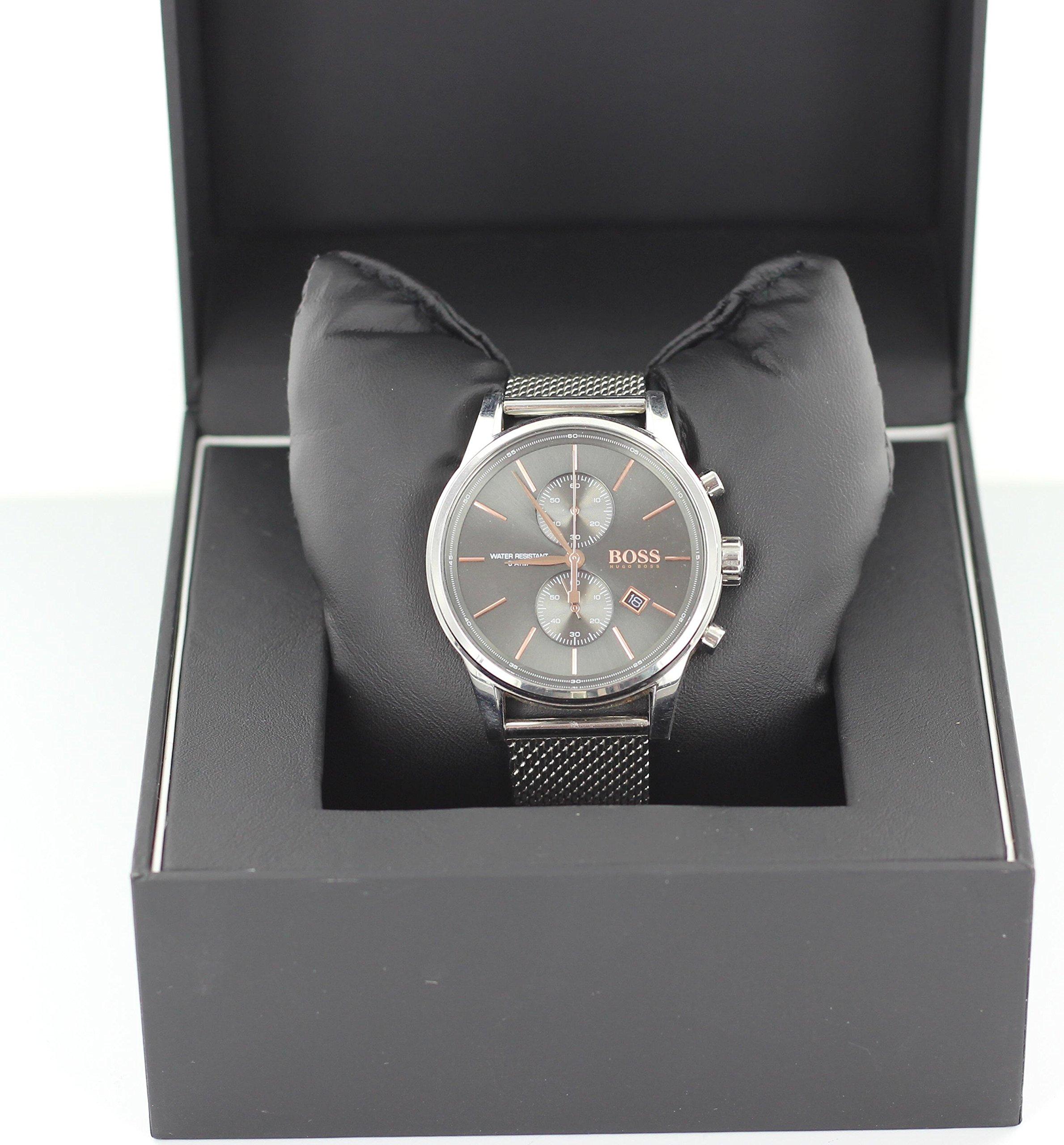 Hugo-BOSS-Herren-Armbanduhr-1513440-StahlGrau