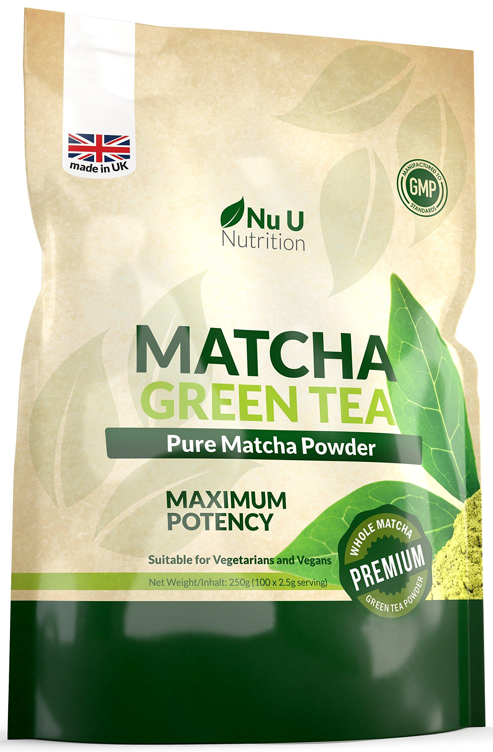 Matcha-Grntee-Pulver-250g-Hochwertiger-Matcha-Tee-250g-Doppelgre-Hergestellt-in-Grobritannien-ultrafeinem-leicht-zu-mixendem-Matcha-Pulver-reich-an-Antioxidanten-Ideal-fr-Smoothies