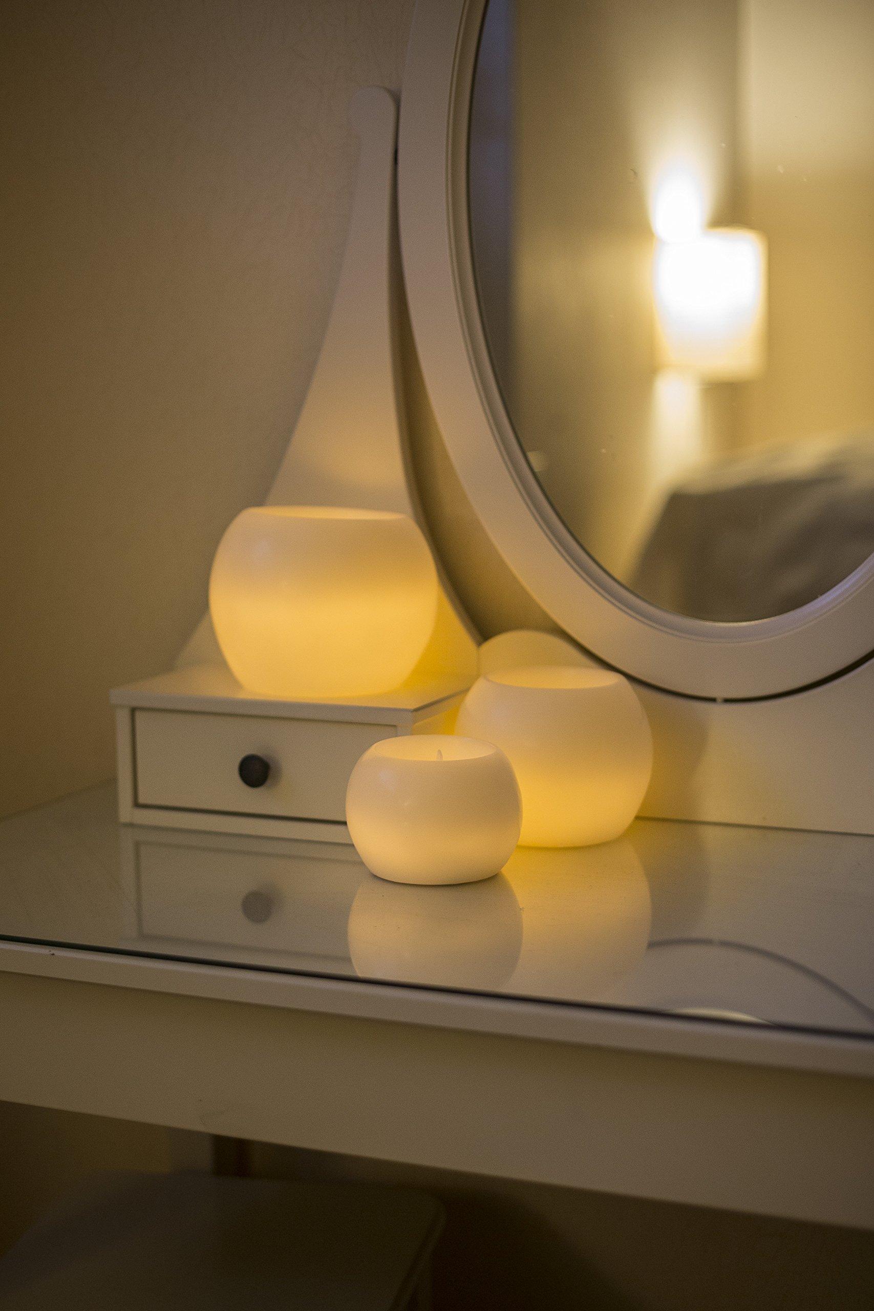 LED-Echtwachskugeln