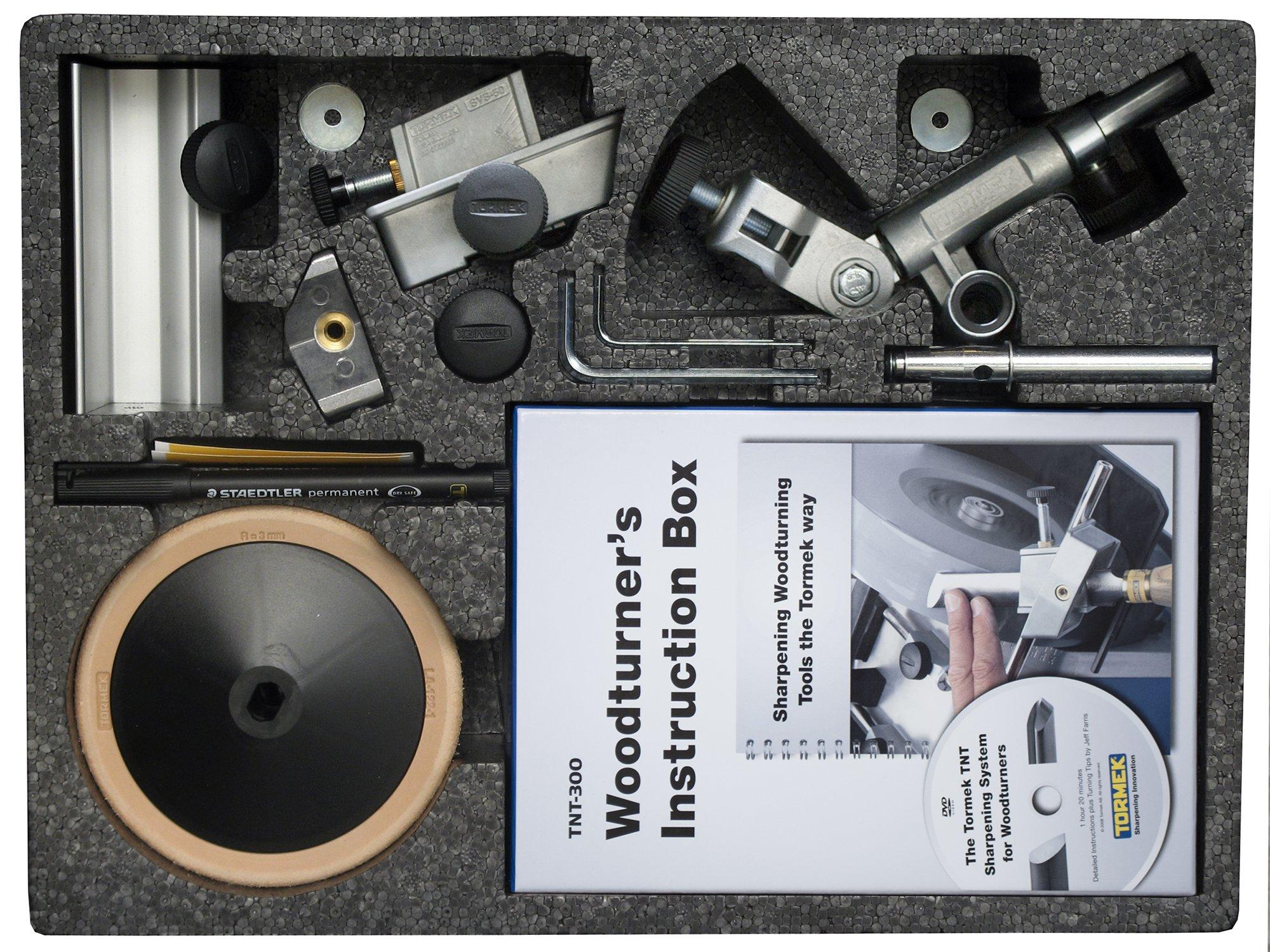 Drechseln-Werkzeug-Schrfen-Kit-Tormek-tnt-708-Eine-Komplette-Drehmeiel-Spitzer-kit-fr-Tormek-Wasser-gekhlt-Schrfen-Systeme