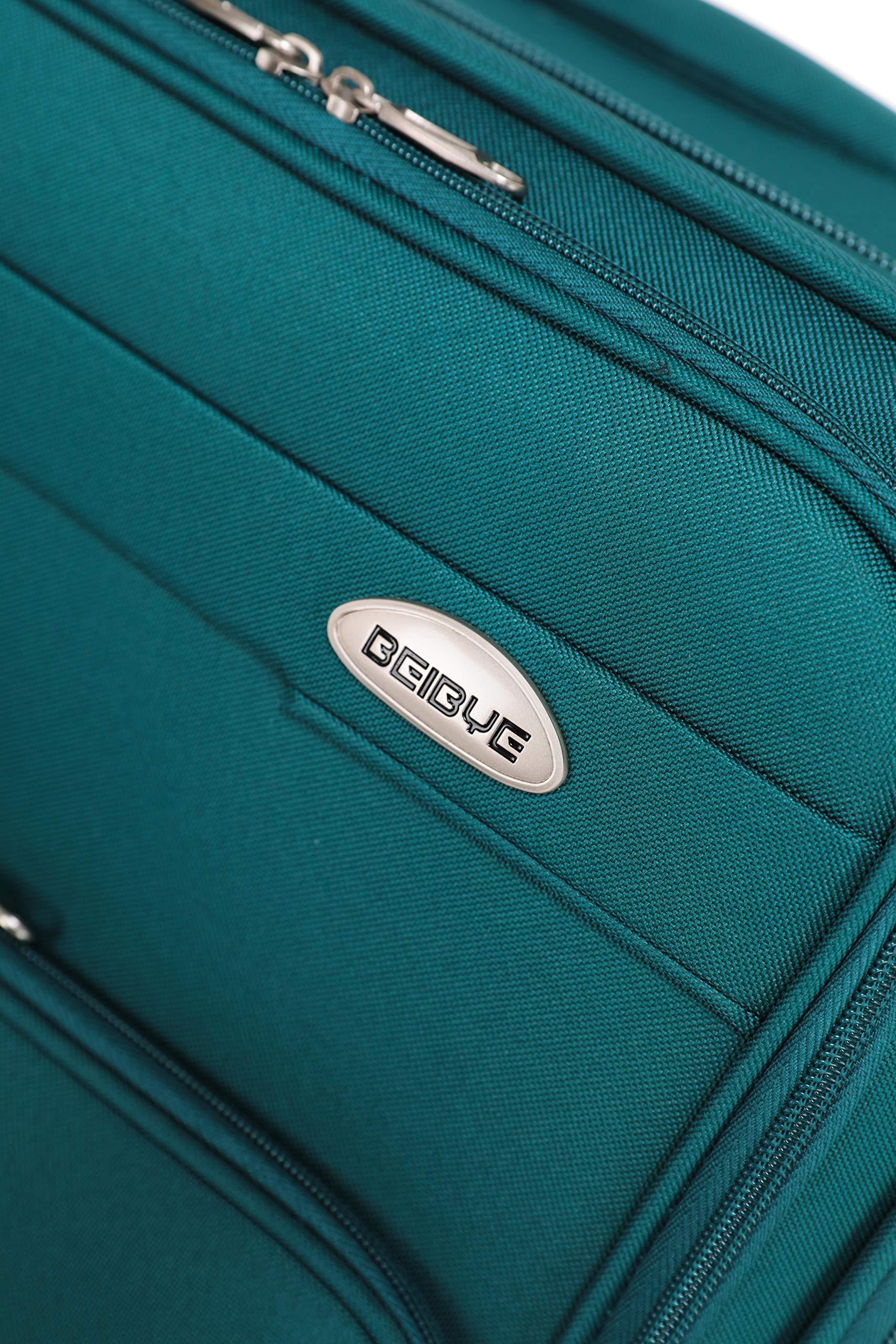 BEIBYE-4-Rollen-Reisekoffer-3tlgStoffkoffer-Handgepck-Kindergepck-Gepck-Koffer-Trolley-Set-XL-L-M