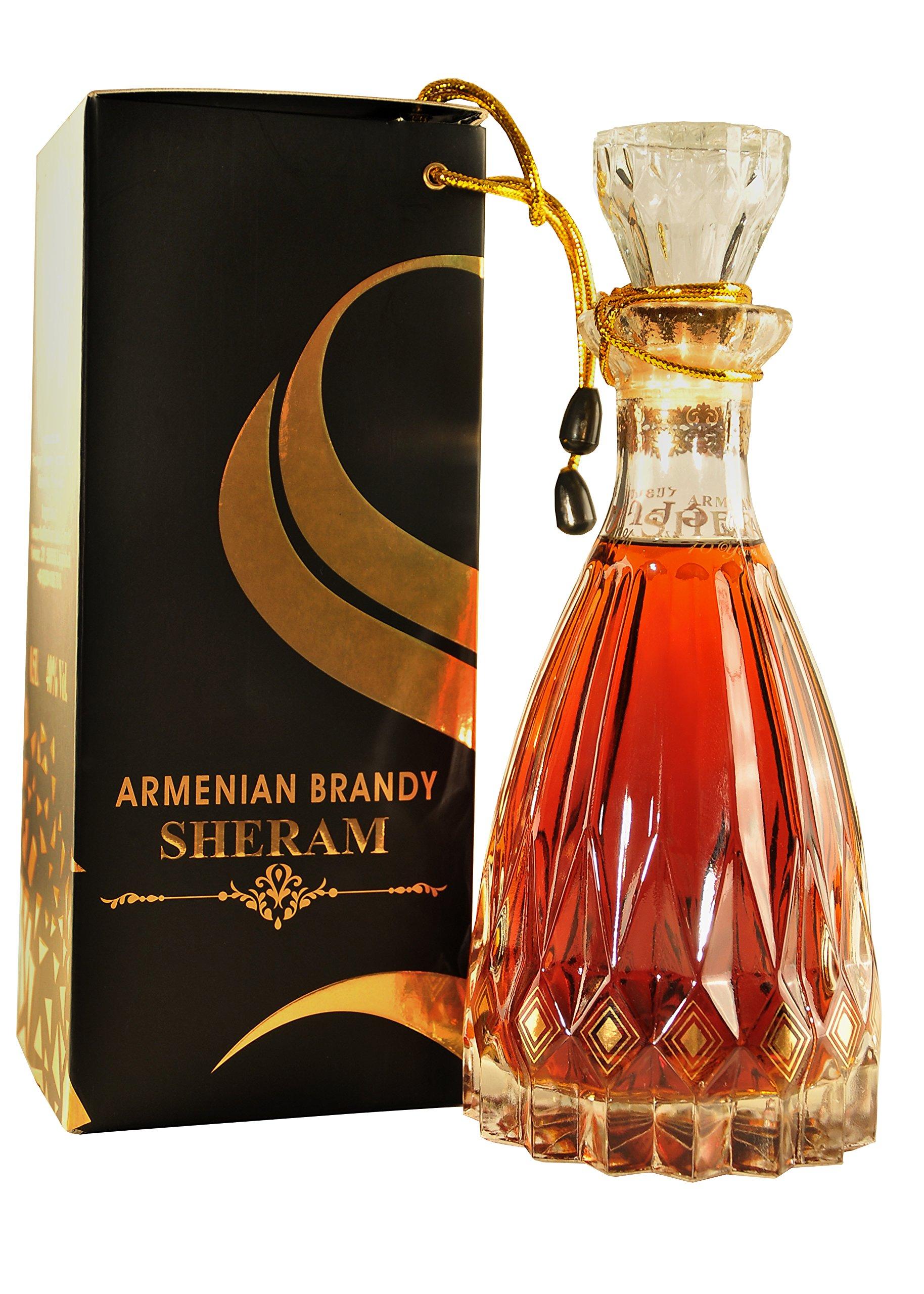 Armenischer-Brandy-Sheram-05L-Flasche-40-Alk-10-Jahre-gereift