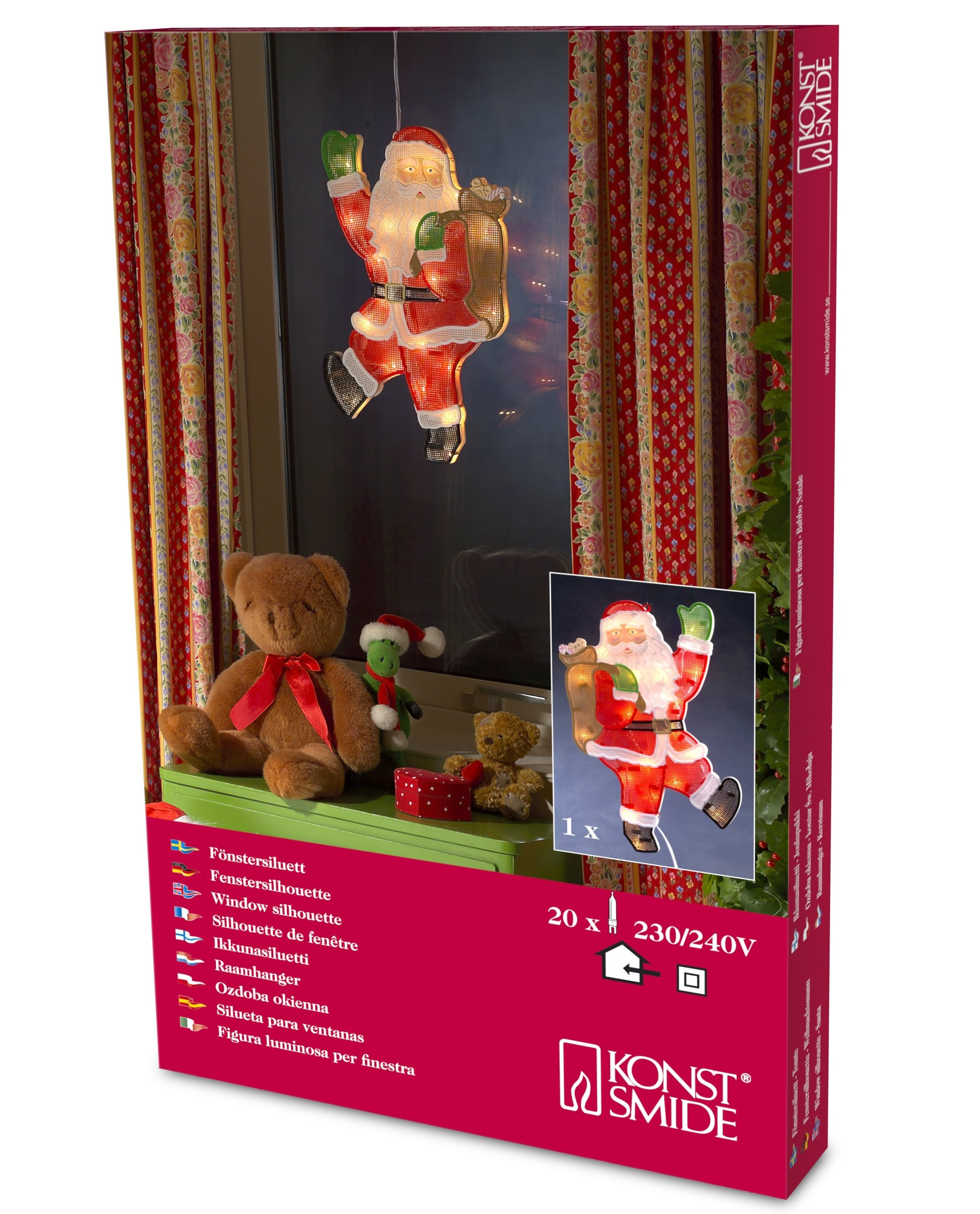 Konstsmide-2850-000-Fensterbild-Weihnachtsmann-fr-Innen-IP20-230V-Innen-20-klare-Birnen-weies-Kabel