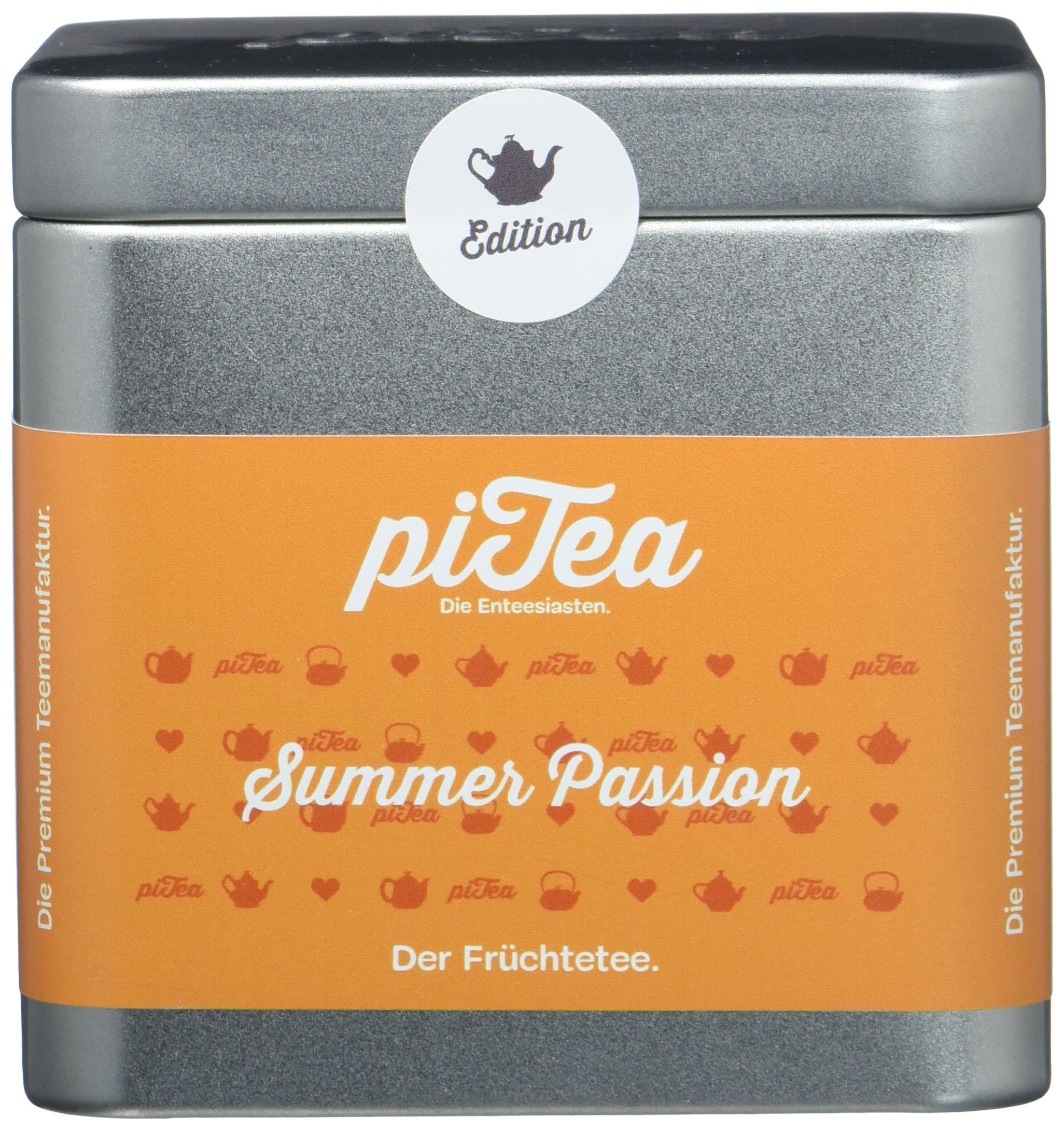 Pi-Tea-Summer-Passion-Dose-Frchtetee-Teestation-natrlich-und-vegan-2er-Pack-2-x-100-g
