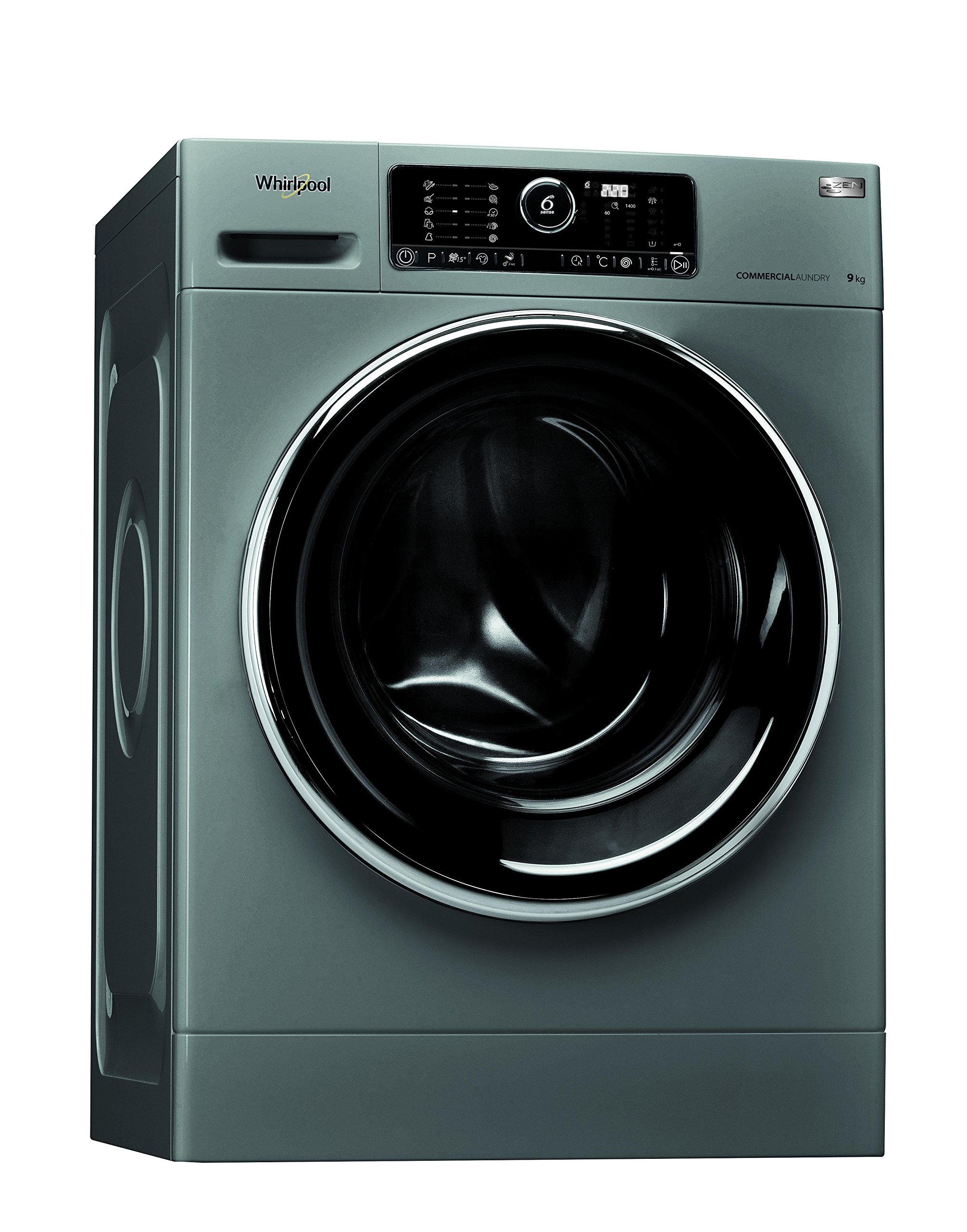 Whirlpool-AWG-912-SPro-autonome-Belastung-Bevor-9-kg-1200trmin-schwarz-grau-Waschmaschine-Waschmaschinen-autonome-bevor-Belastung-schwarz-grau-Oberflche-Schwarz-Edelstahl