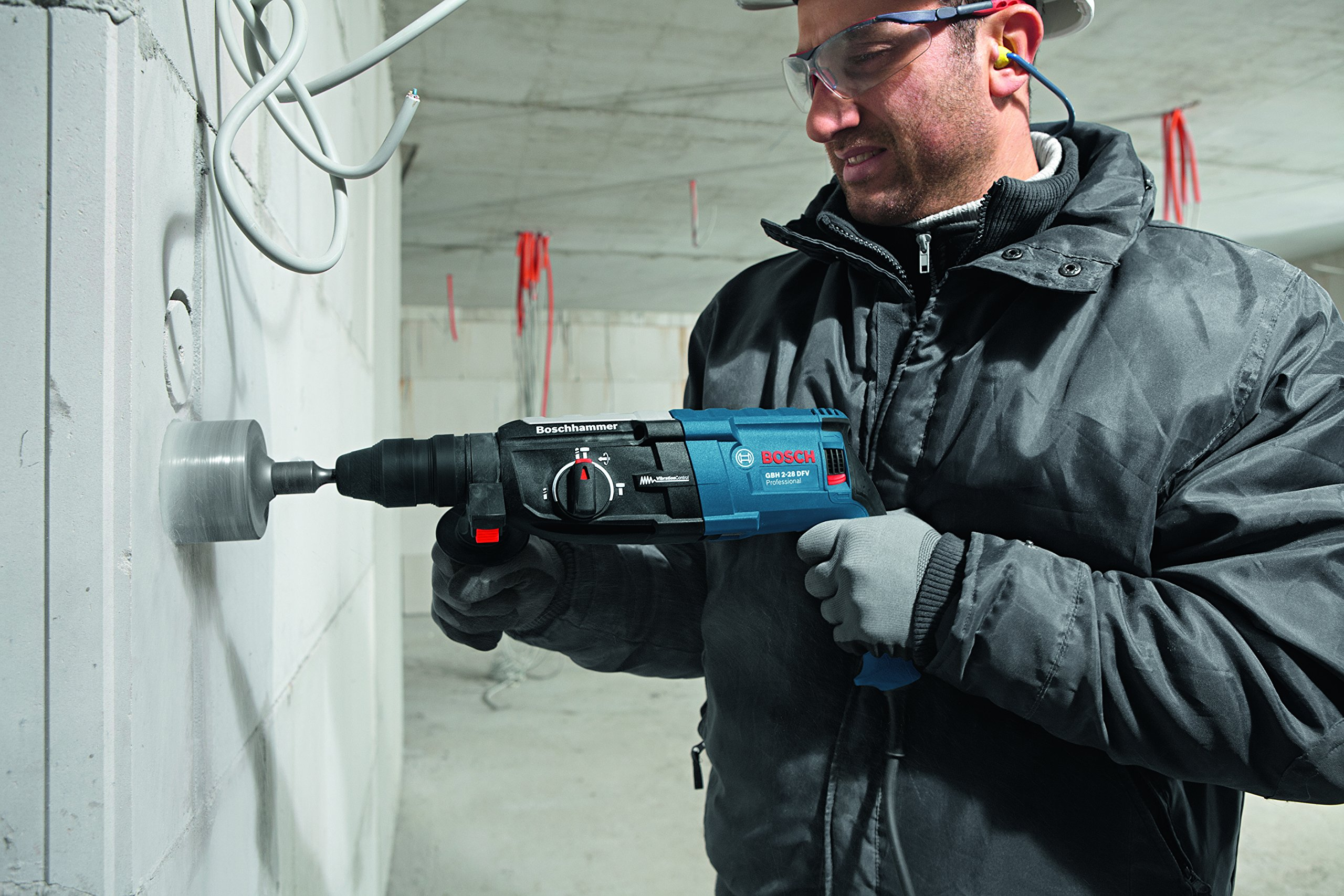Bosch-Professional-GBH-2-28-DFV-Bohrhammer-SDS-plus-Wechselfutter