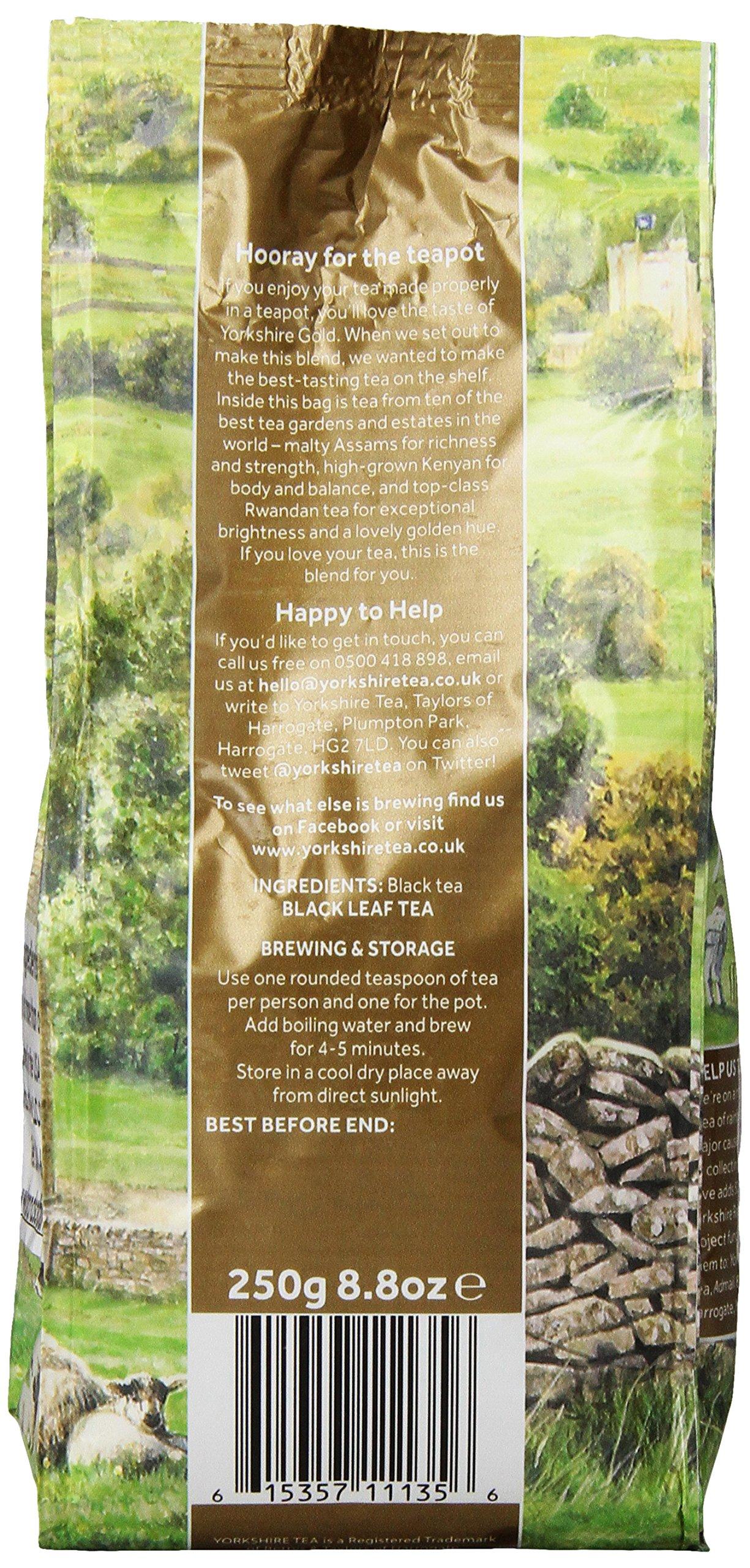 Taylors-of-Harrogate-Yorkshire-Gold-Tea-leaf-250g-loser-schwarzer-Tee