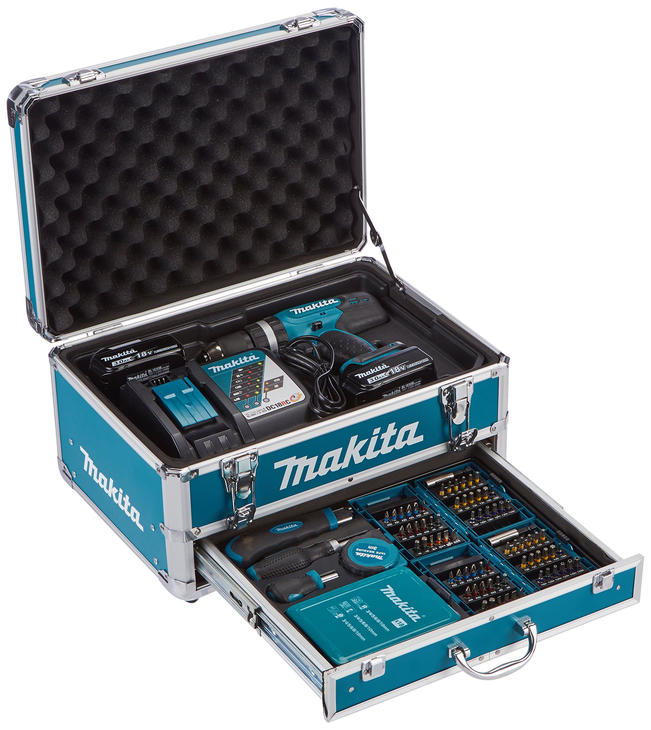 Makita-Akku-Schlagbohrschrauber-18-V-1-Stck-DHP453RFX2