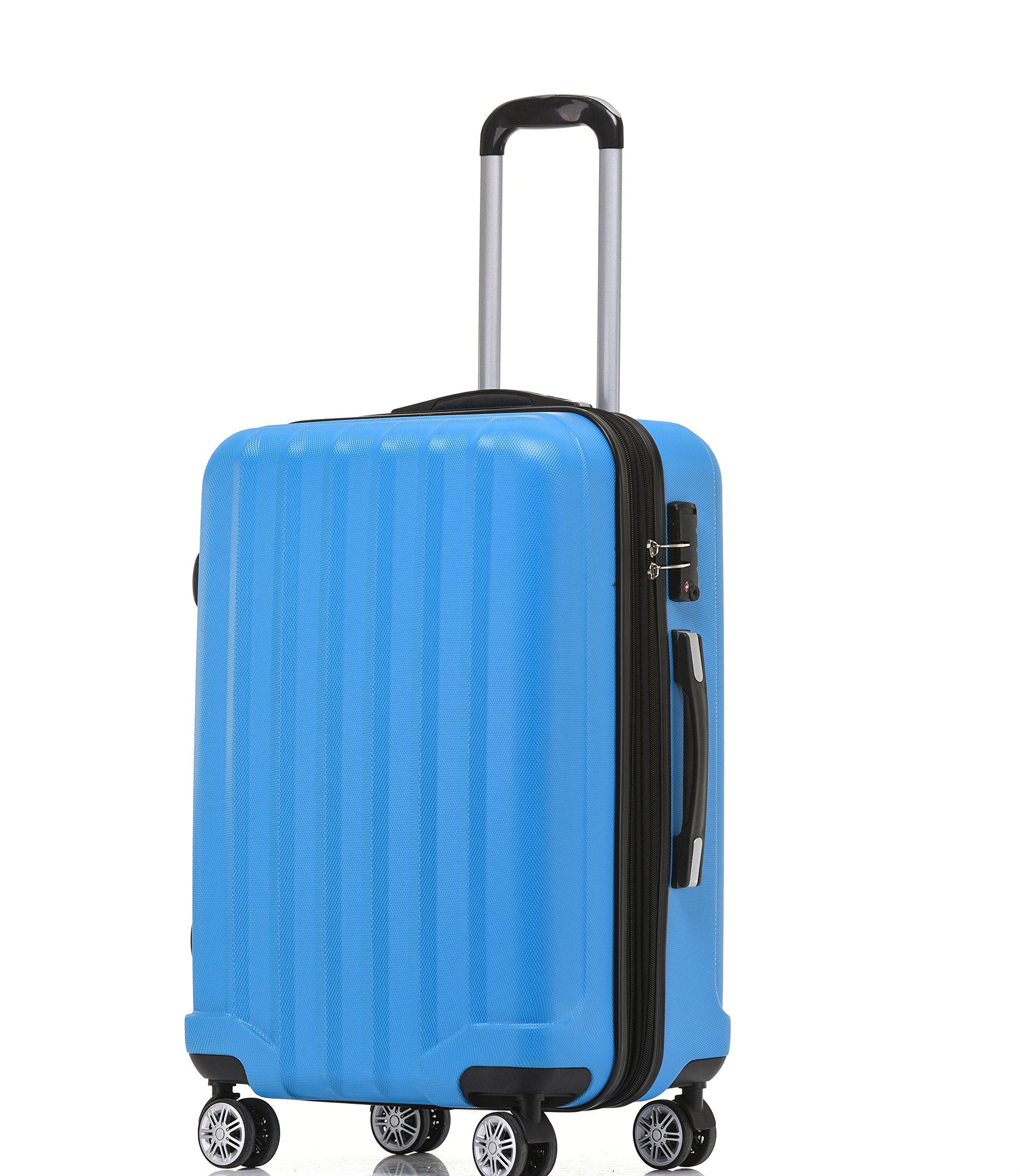 BEIBYE-TSA-Schlo-2080-Hangepck-Zwillingsrollen-neu-Reisekoffer-Koffer-Trolley-Hartschale-Set-XL-L-MBoardcase