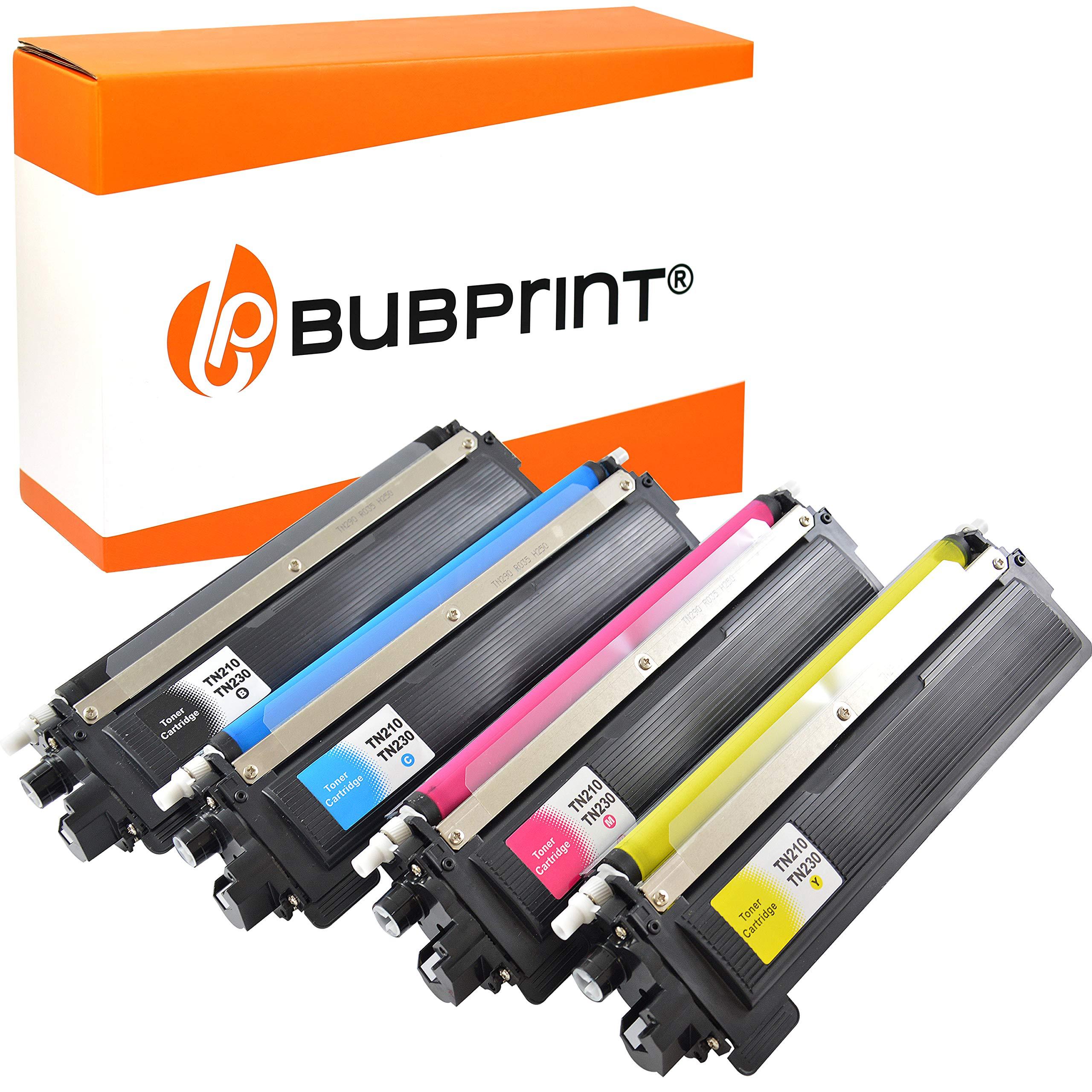 Bubprint-4-Toner-kompatibel-fr-Brother-TN-230-TN230-TN-230-fr-DCP-9010CN-HL-3040CN-HL-3070CW-MFC-9120CN-MFC-9320CW-Schwarz-Cyan-Magenta-Gelb