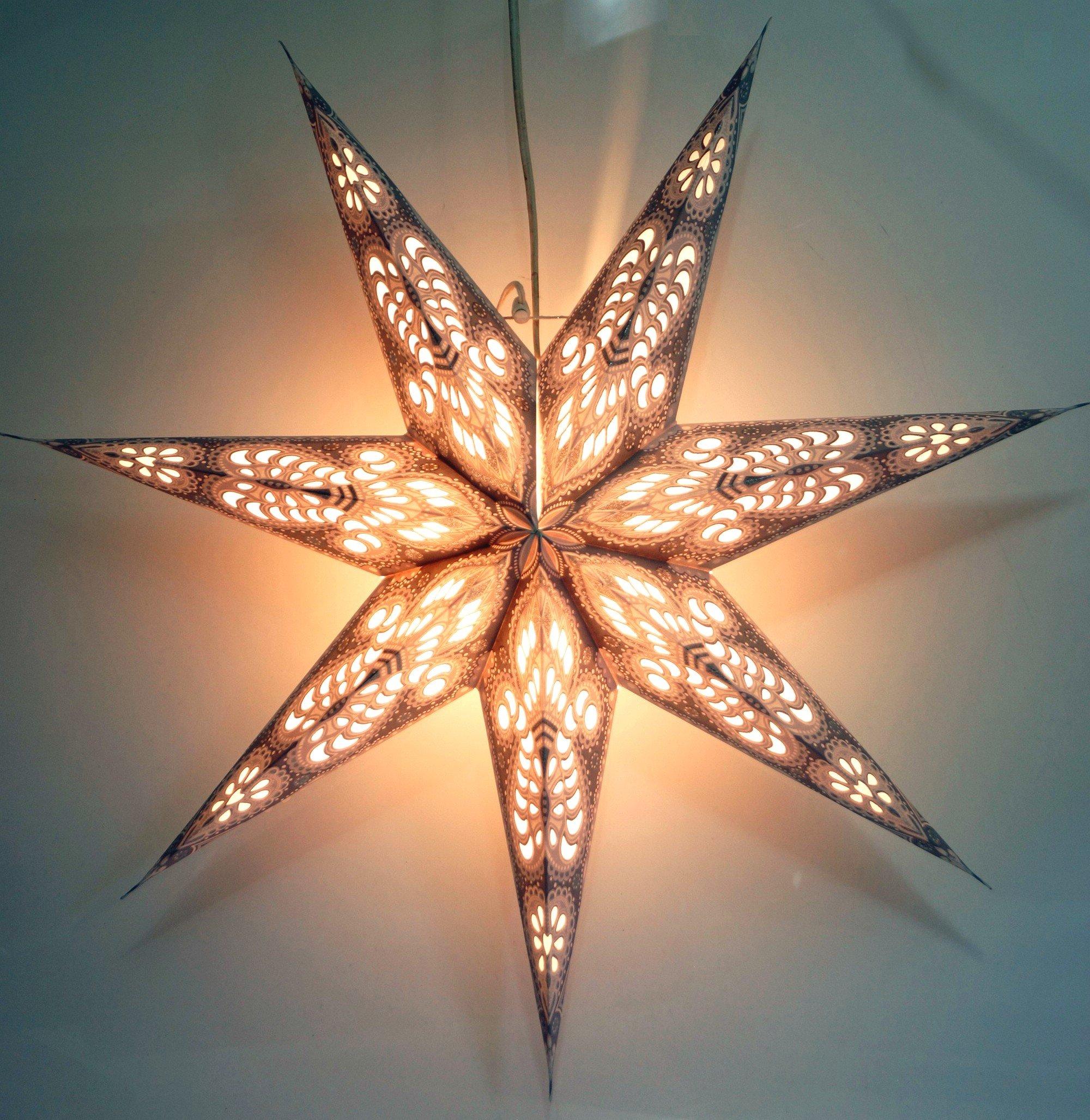 Guru-Shop-Faltbarer-Advents-Leucht-Papierstern-Weihnachtsstern-Menora-7-Nature-Star-Fensterdeko-7-Spitzen