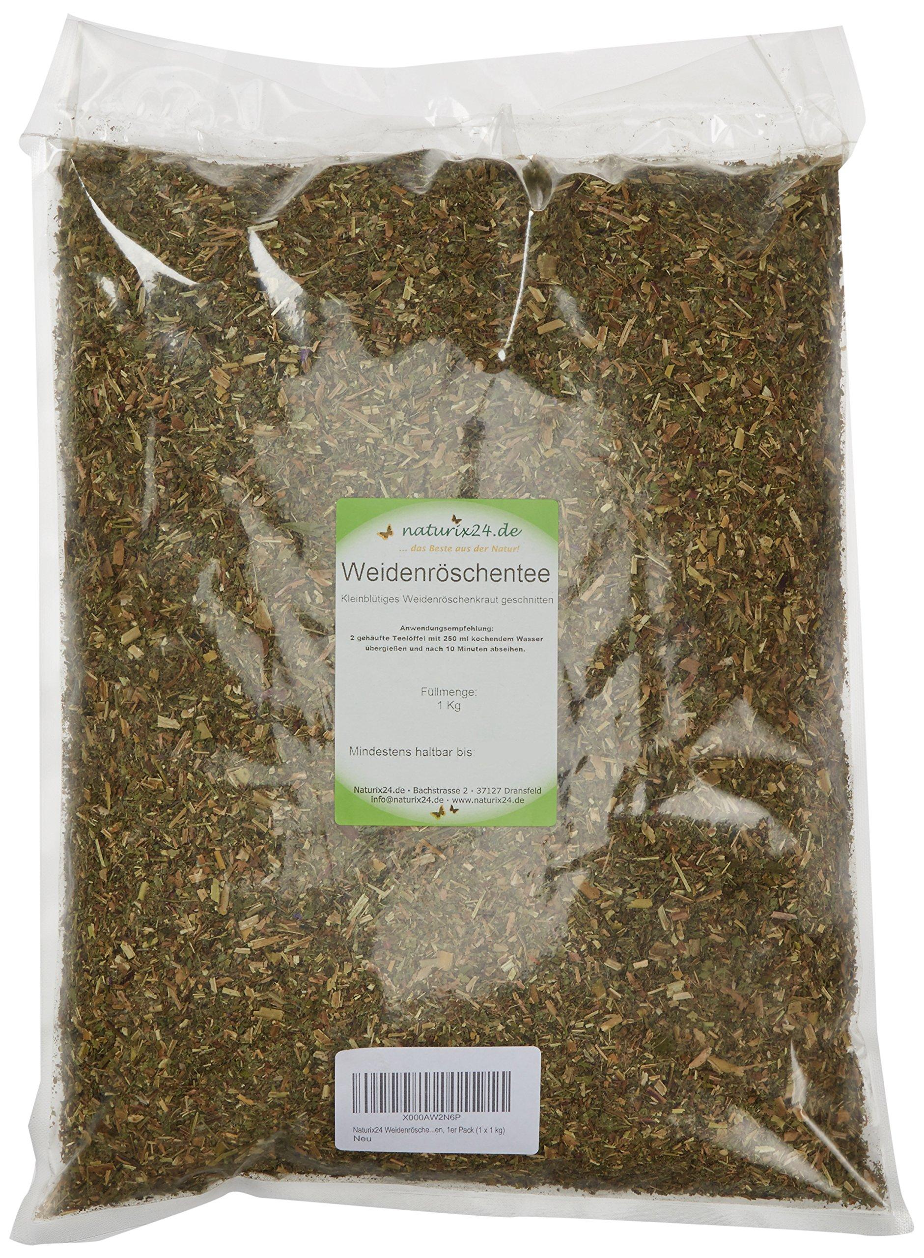 Naturix24-Weidenrschentee-Kleinbltiges-Weidenrschenkraut-geschnitten-1er-Pack-1-x-1-kg