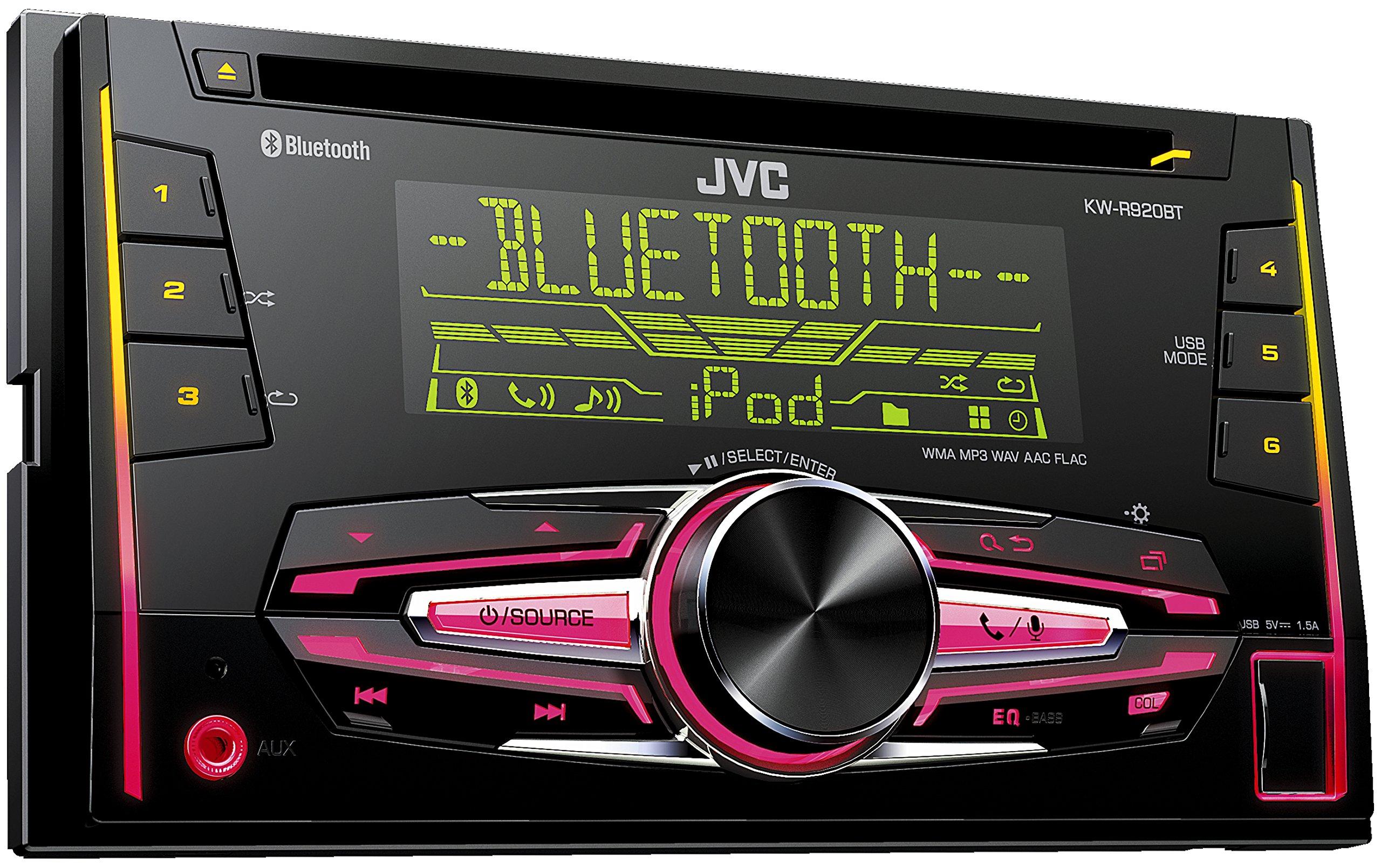 JVC-KW-Doppel-DIN-USBCD-Receiver-mit-Front-AUX-Eingang