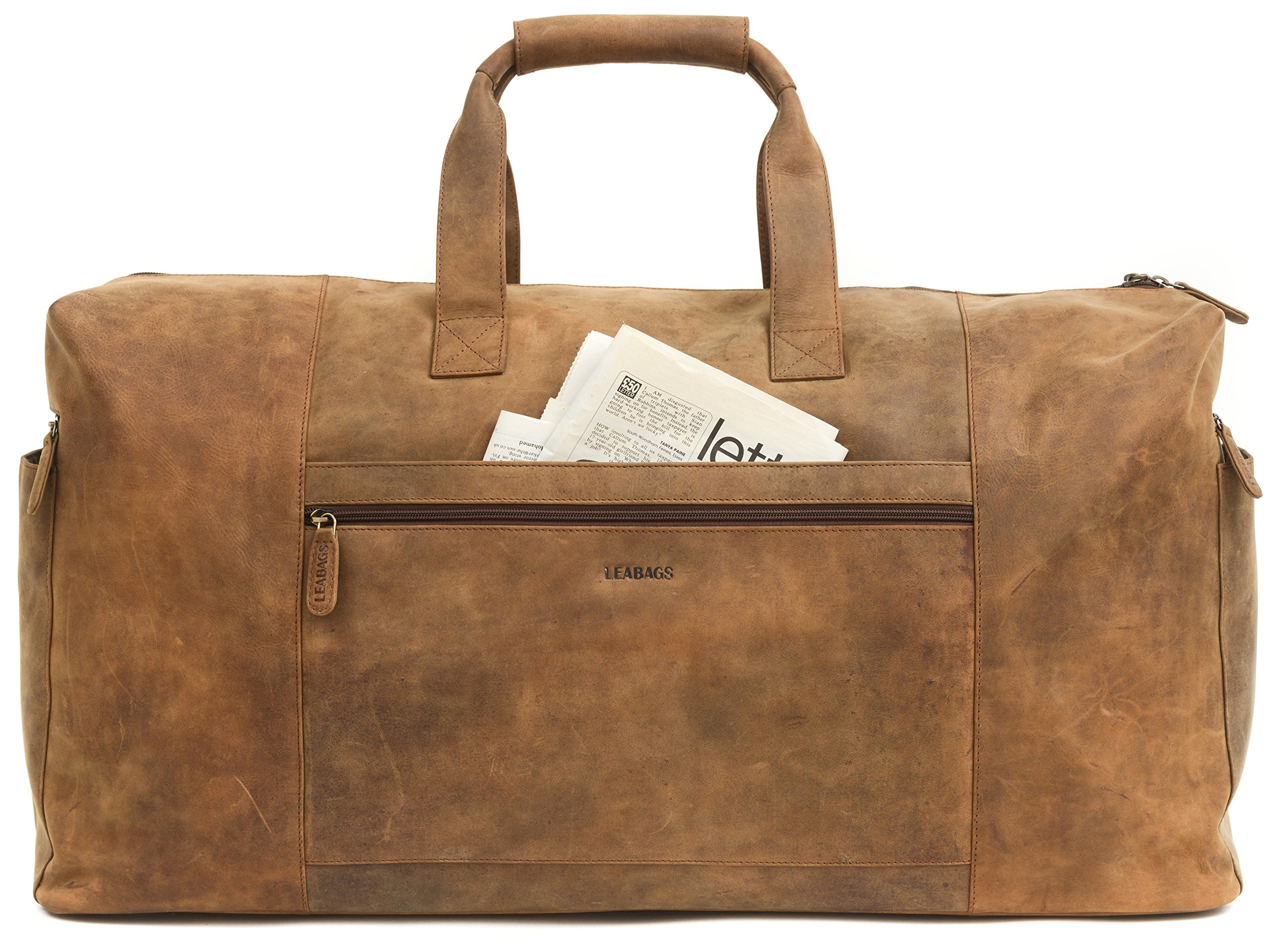 LEABAGS-Sydney-Reisetasche-aus-Echtem-Bffel-Leder-im-Vintage-Look