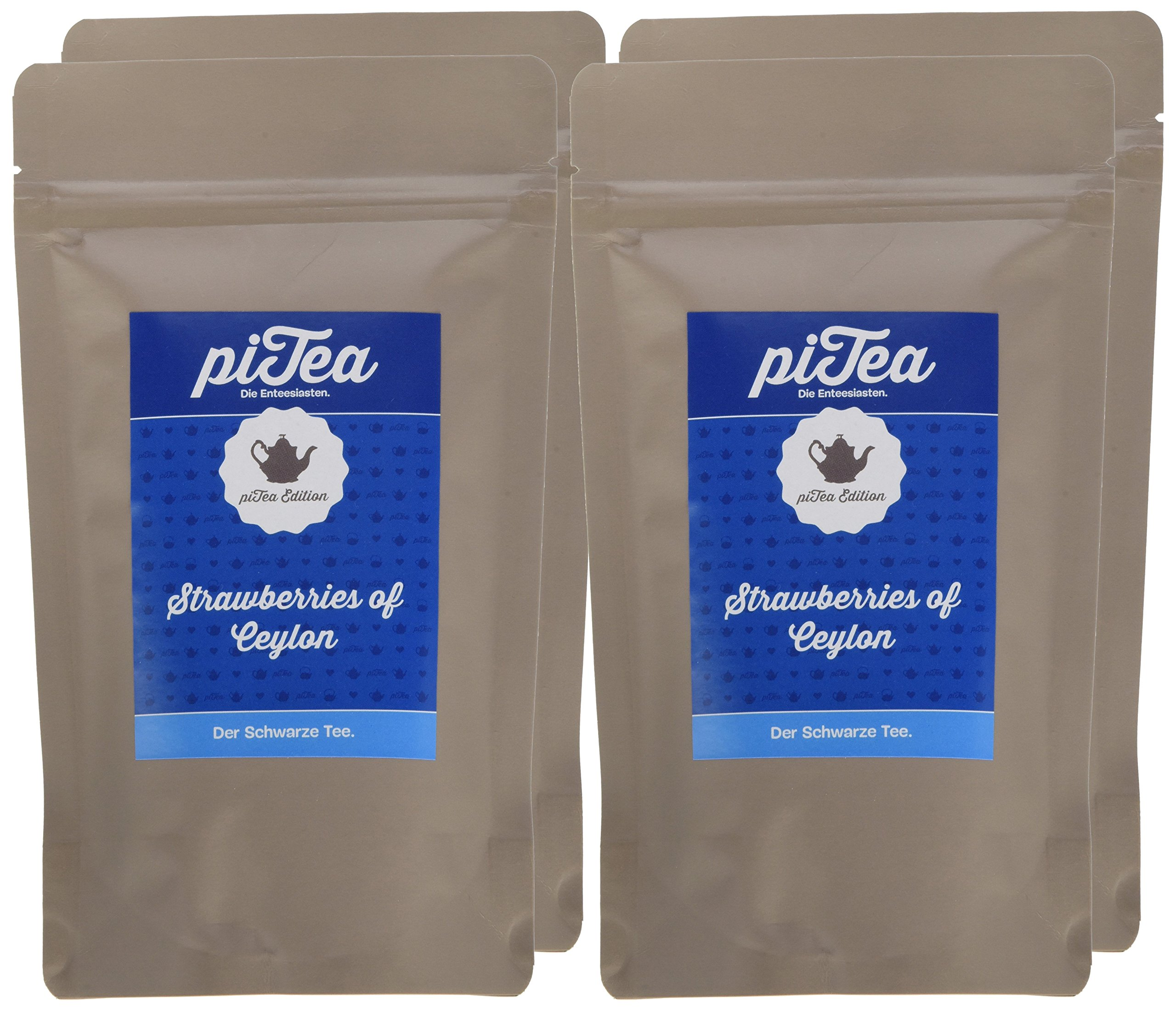 Pi-Tea-Strawberries-of-Ceylon-Tte-Schwarzer-Tee-natrlich-und-vegan-4er-Pack-4-x-75-g