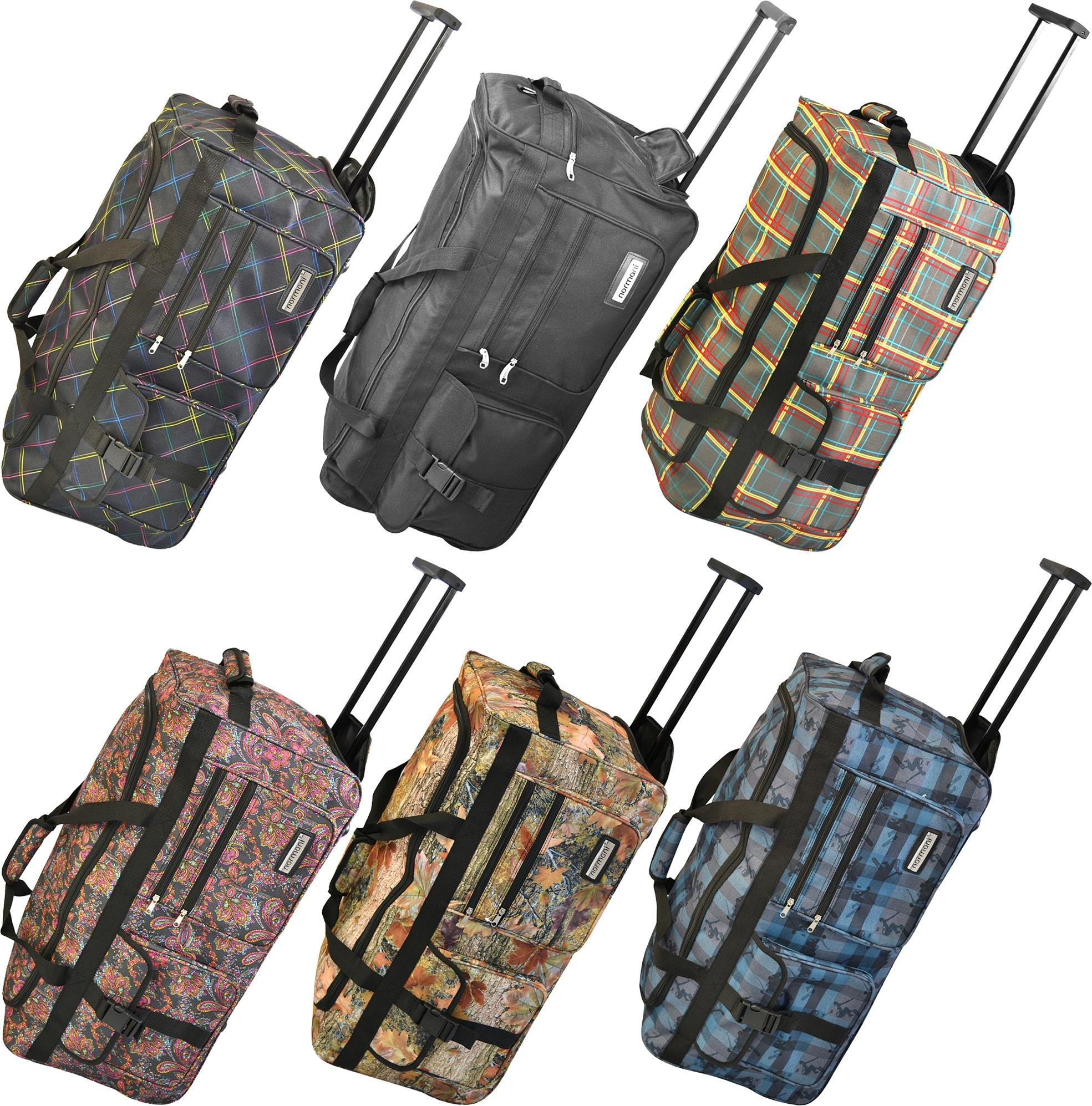 normani reisetasche jumbo big travel 3 rollen riesige 80 liter xxl v4 5 generation neu koffer. Black Bedroom Furniture Sets. Home Design Ideas