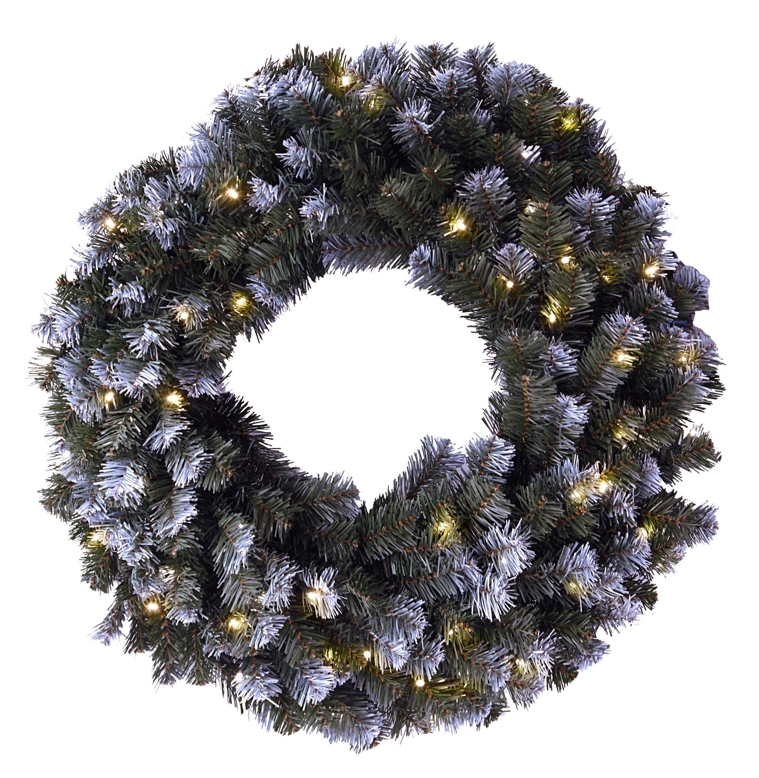 Best-Season-LED-Tannenkranz-mit-Schneedecor-beleuchtet-Durchmesser-circa-70-cm-60-warm-wei-LED-outdoor-612-11