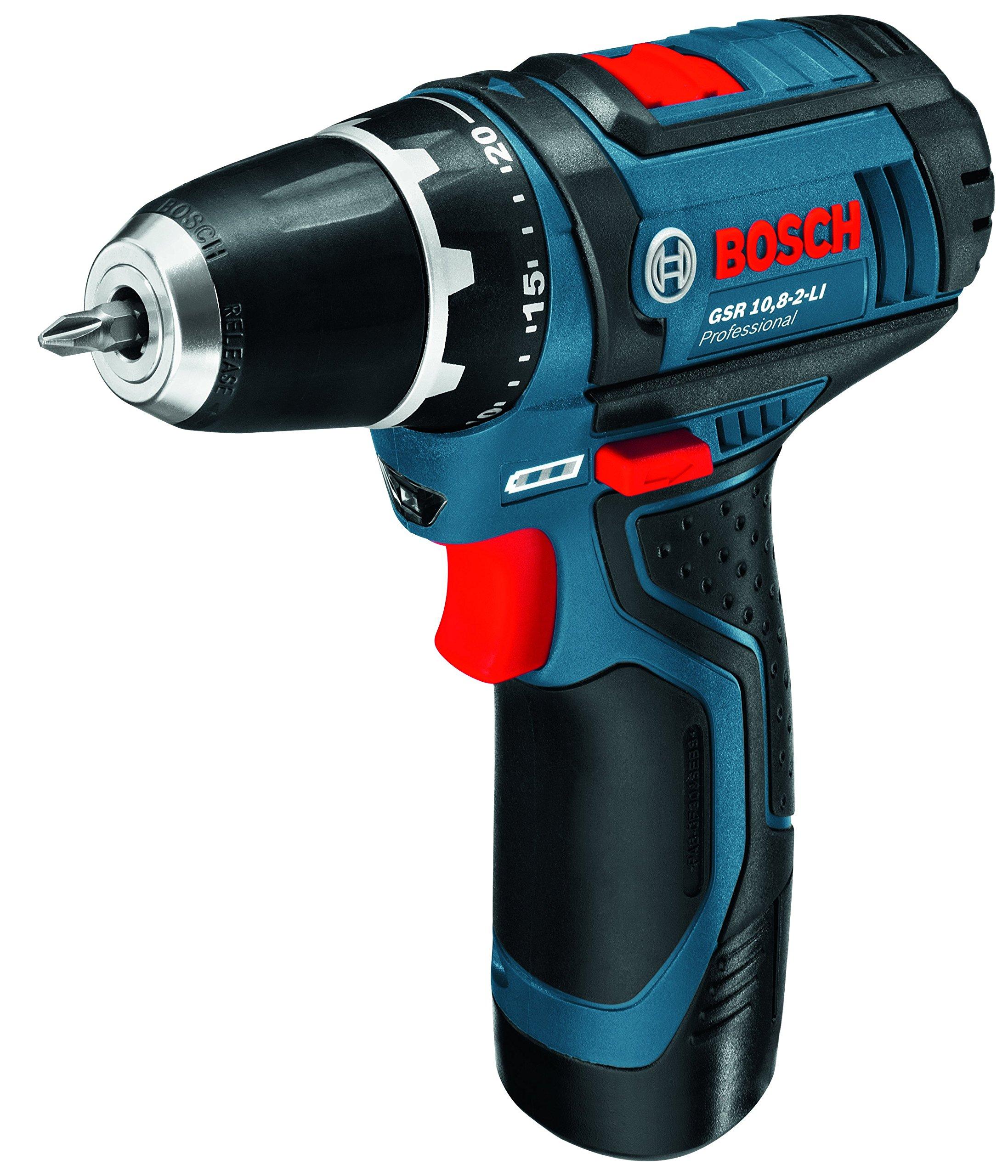 Bosch-Professional-Akku-Bohrschrauber-GSR-12V-15-1x-20-Ah-Akku-1x-40-Ah-Akku-Ladegert-39-tlg-Zubehrset-Tasche-12-Volt-Schrauben–7-mm-Drehmoment-max-30-Nm