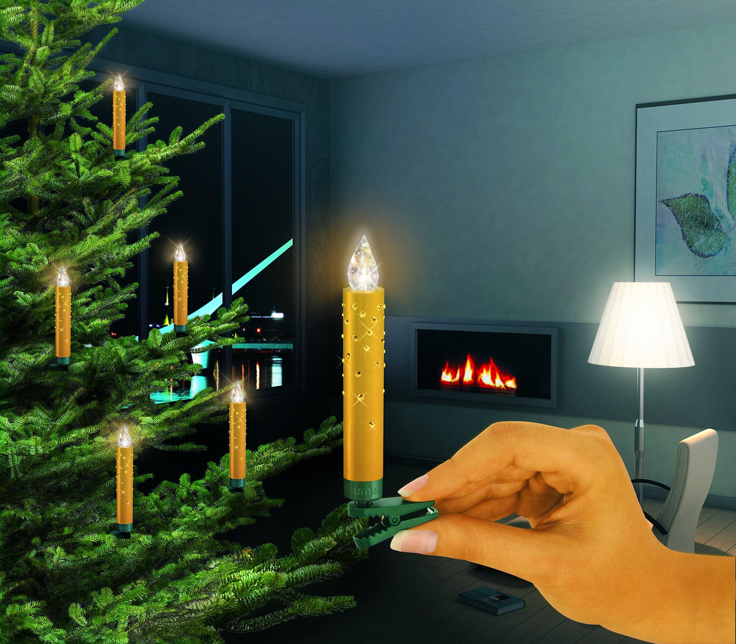 Krinner-Lumix-Crystal-Modell-2012-gold-mit-Swarovski-Kristallen-5er-Erweiterungsset