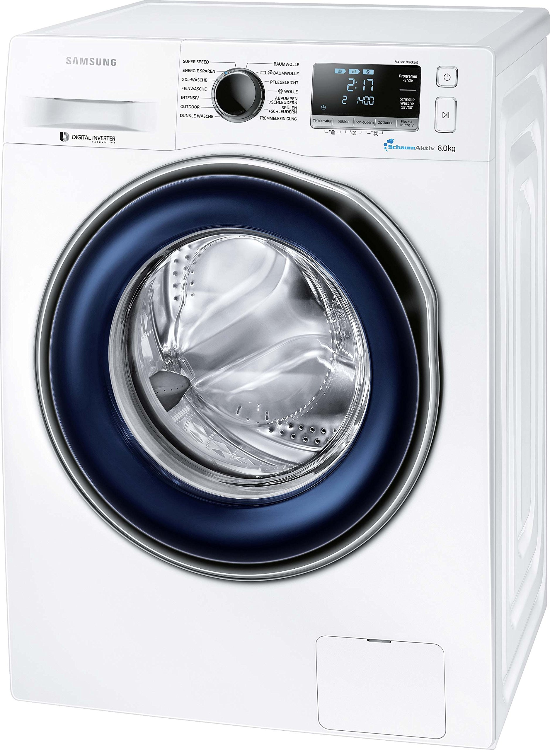 Samsung-WaschmaschineAFrontlader1400-UpM-8-kgSchaumAktivTrommelreinigung
