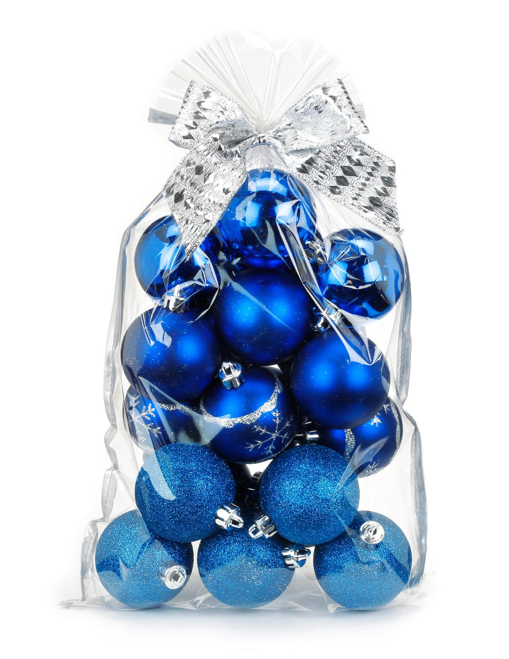 20-Stk-Christbaumkugeln-6cm-Kuststoff-PVC-Weihnachtskugeln-Baumschmuck-Dekor-Motive-Plastik-Christbaumschmuck-Mix-Set-Weihnachten-Geschenk