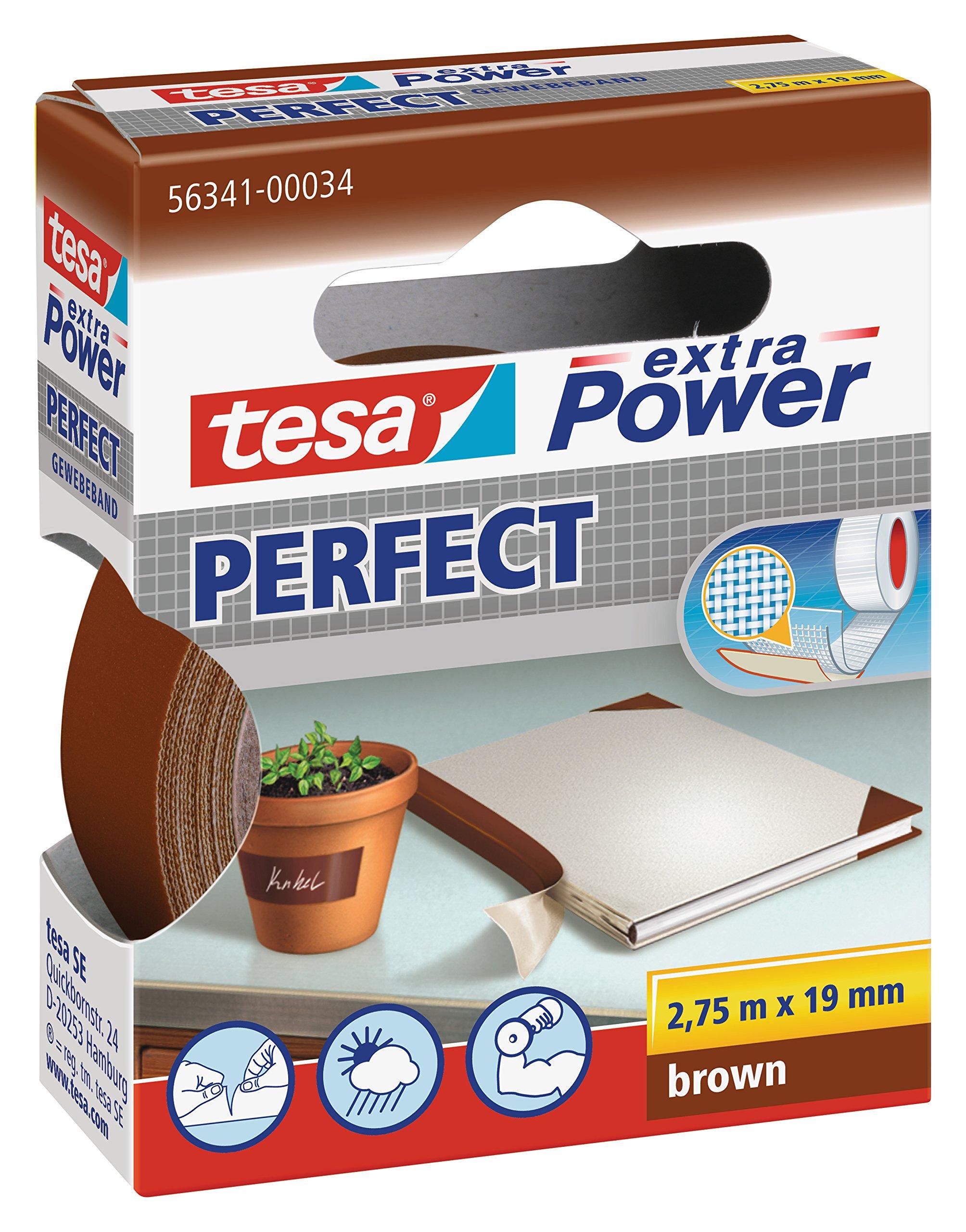 tesa-563410003102-extra-Power-Gewebeband-rot-Lnge-275-m